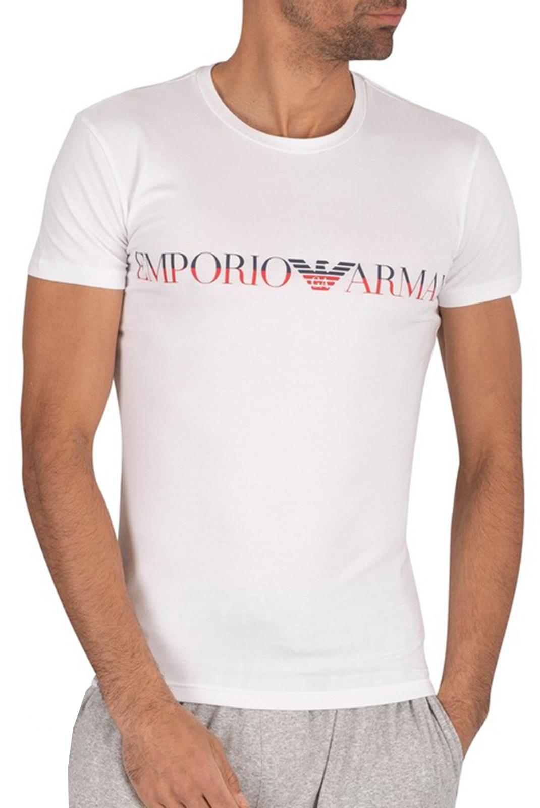 T-S manches courtes  Emporio armani 111035 0P516 00010 BIANCO