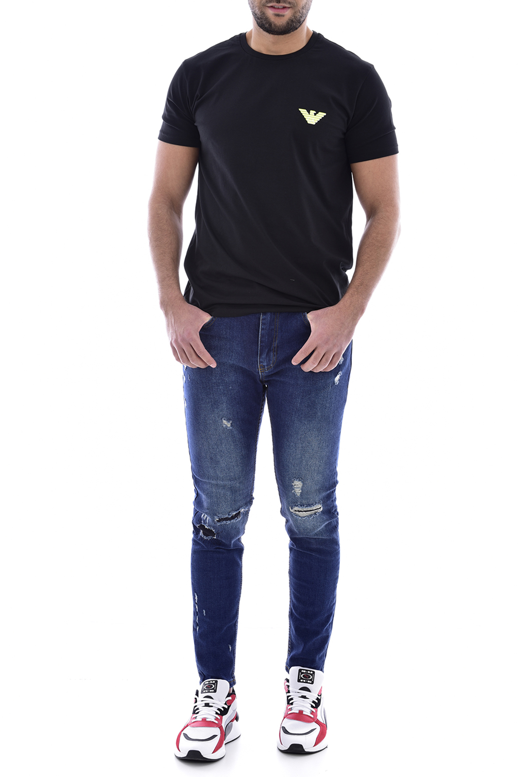 Jeans  Goldenim paris 1312 BLEU
