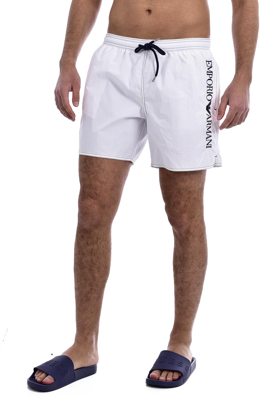 Shorts de bain  Emporio armani 211740 0P422 00010 BIANCO