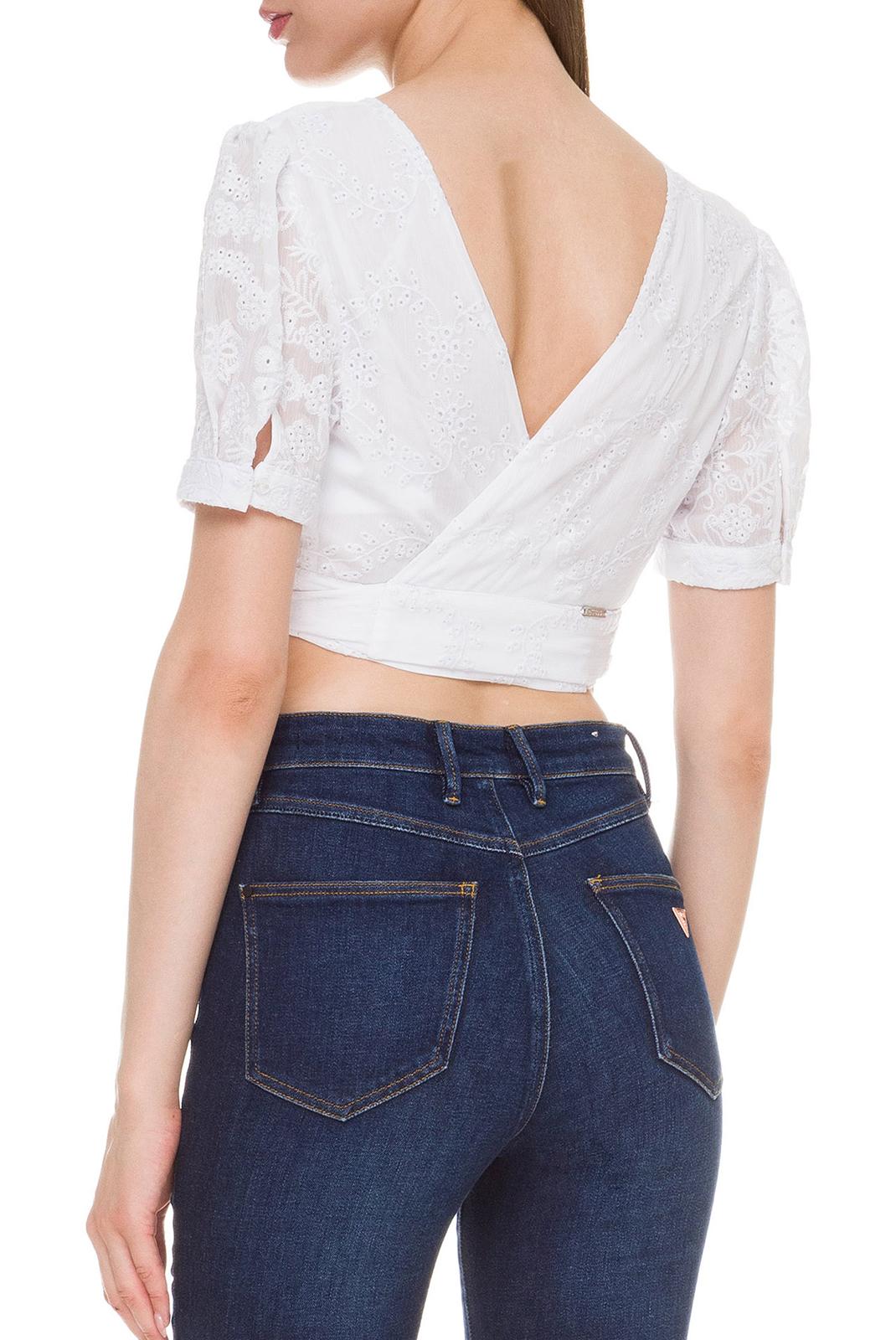 Top   Guess jeans W92H67WBJW0 TRUE WHITE A000