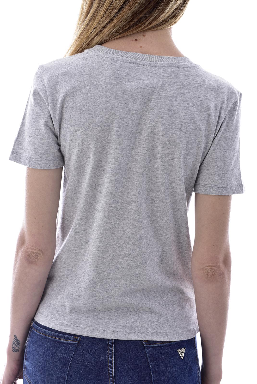 Tee shirt  Tommy Jeans DW0DW08053 MULTICOLOR P01 LT GREY HTR