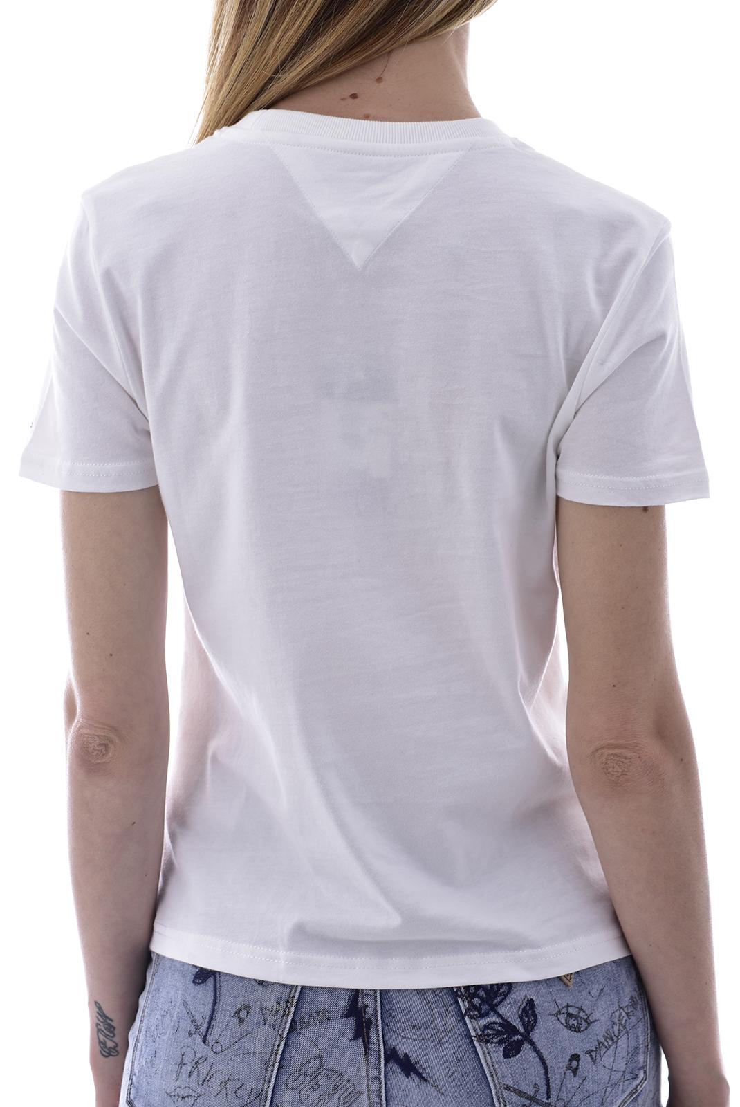 Tee shirt  Tommy Jeans DW0DW08052 NYC YBR WHITE