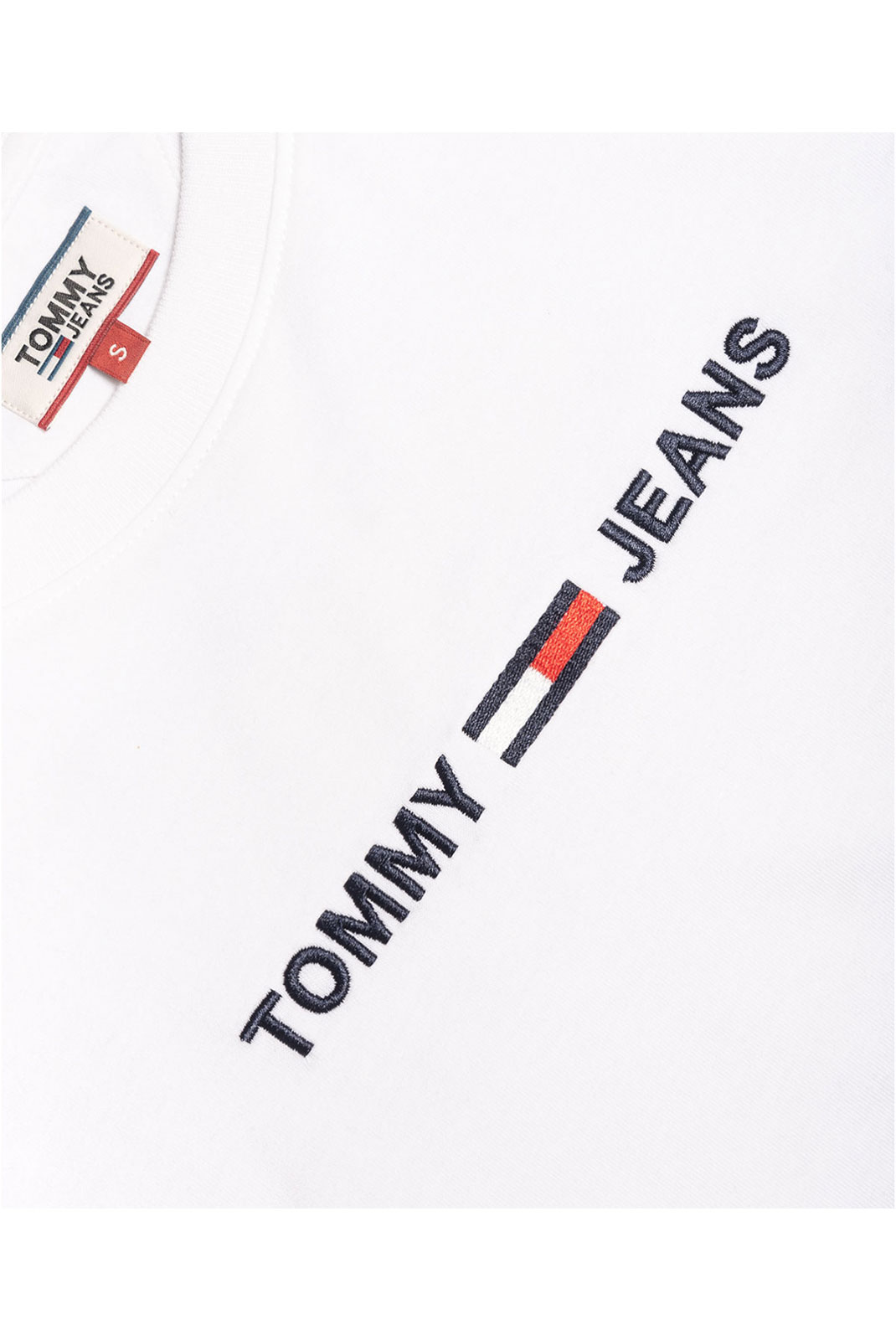 Tee shirt  Tommy Jeans DW0DW08062 MODERN YBR WHITE