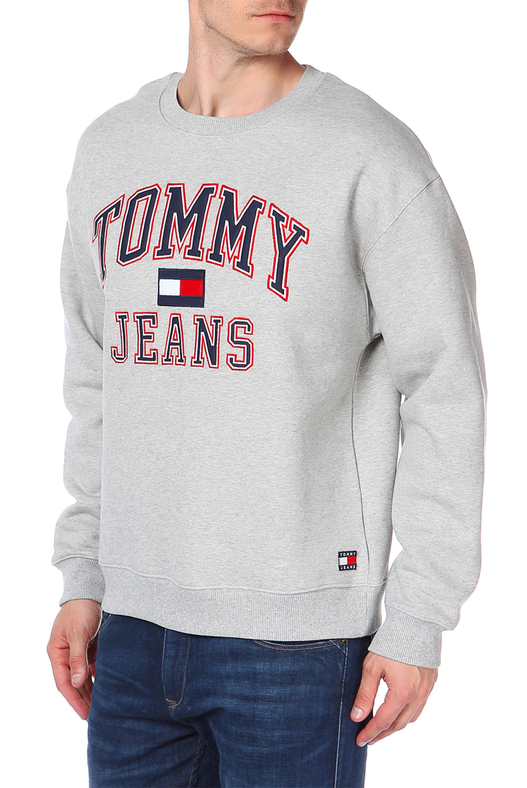 Sweatshirts  Tommy Jeans DM0DM03995009 009 GREY MARL