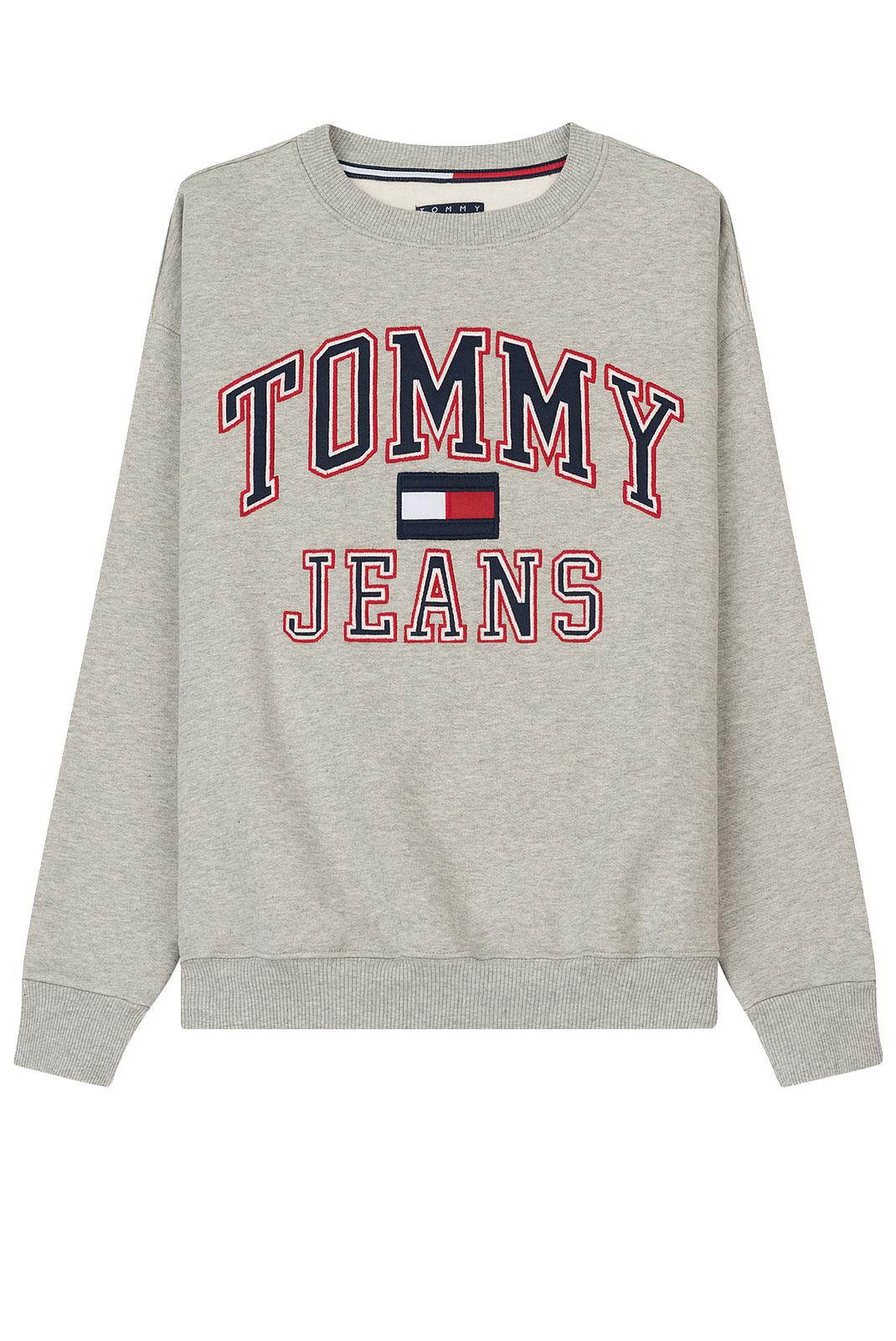 Sweat / sweat zippé  Tommy Jeans DW0DW04043009 009 GREY MARL