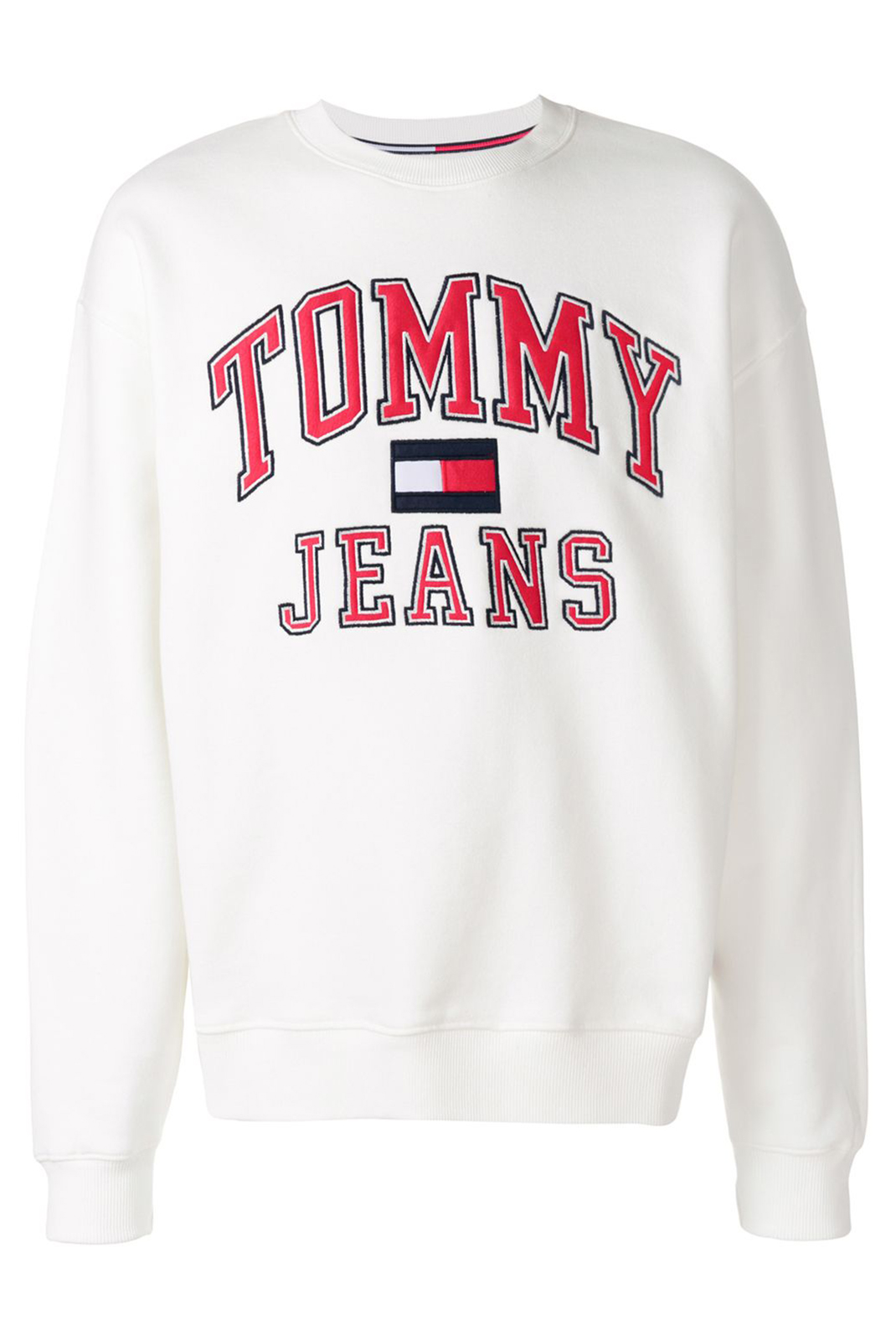 Sweatshirts  Tommy Jeans DM0DM03995113 113 BRIGHT WHITE