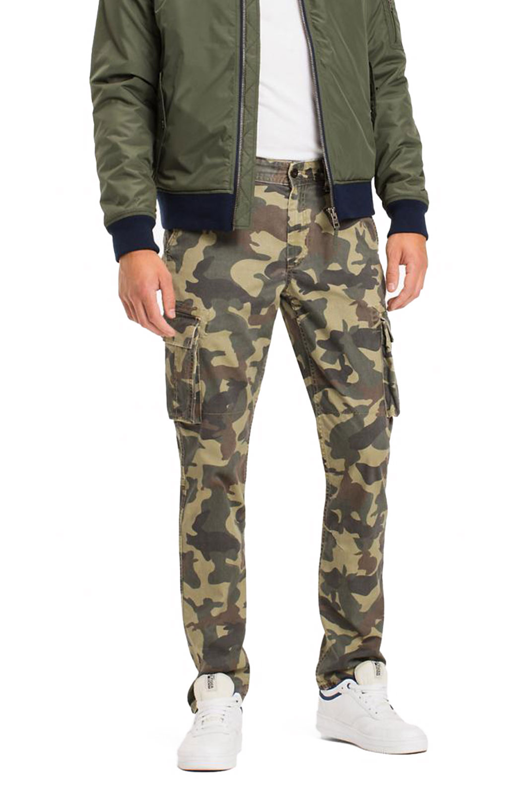 Pantalons sport/streetwear  Tommy Jeans DM0DM03708017 017 CAMO PRINT