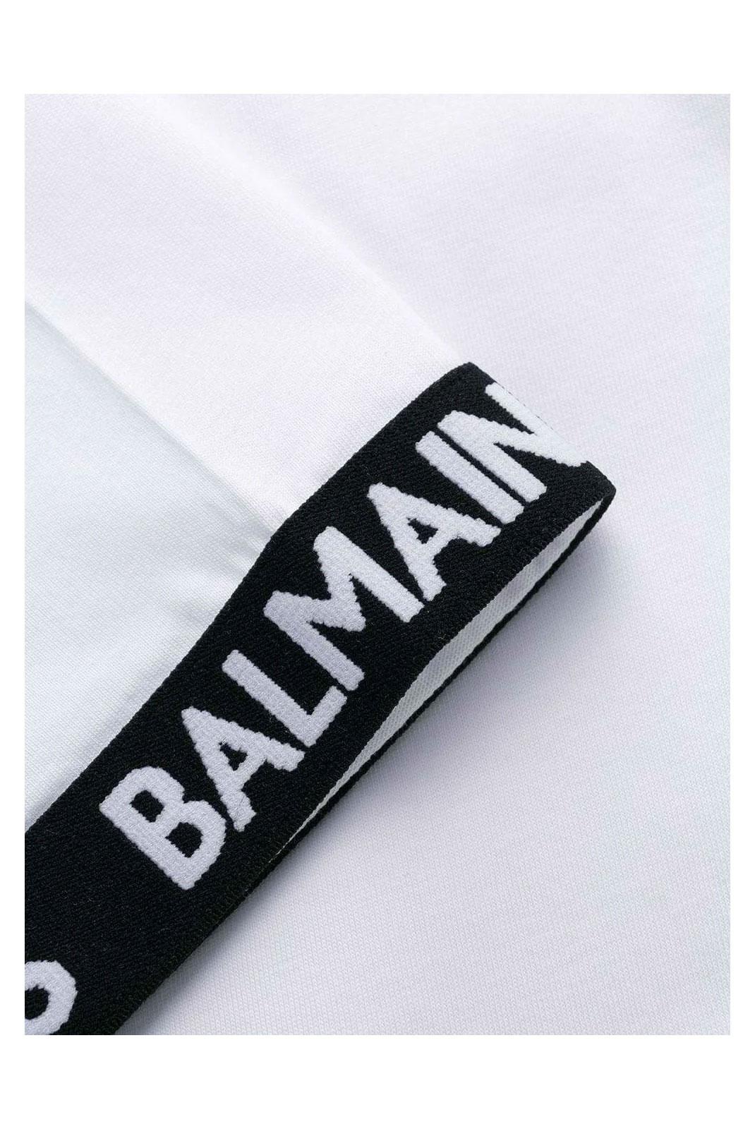 T-S manches courtes  Balmain SH11182 100 WHITE