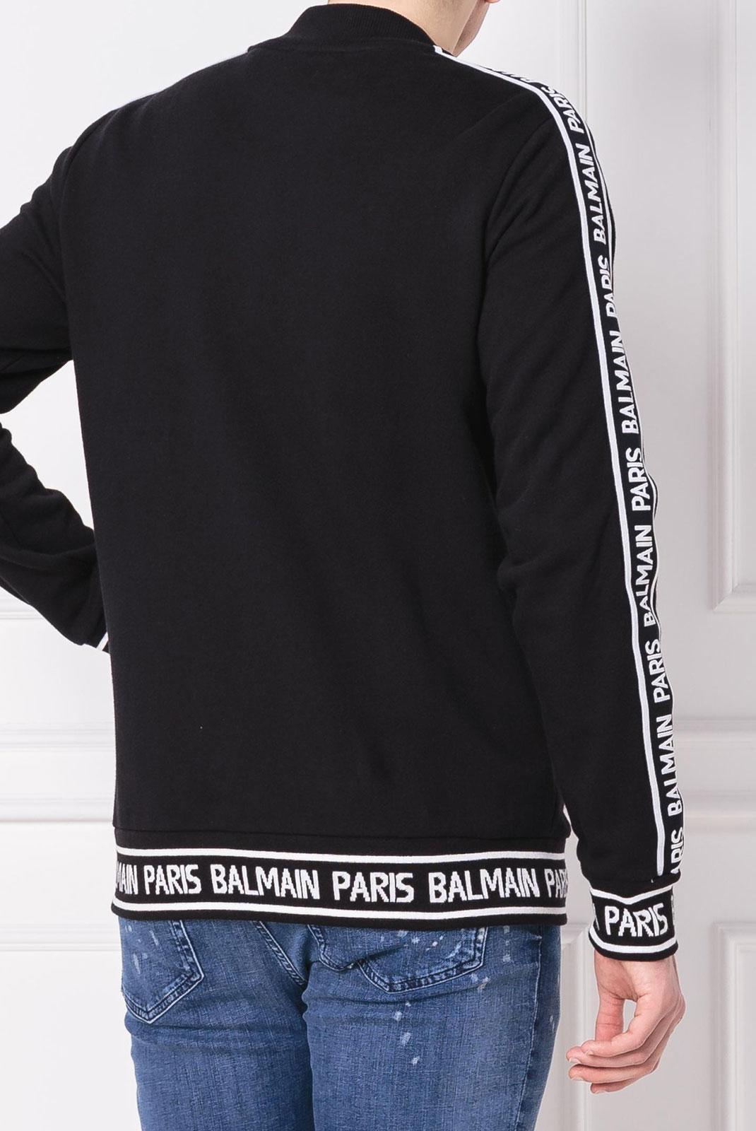 Vestes zippées  Balmain RH08900 0PA NOIR