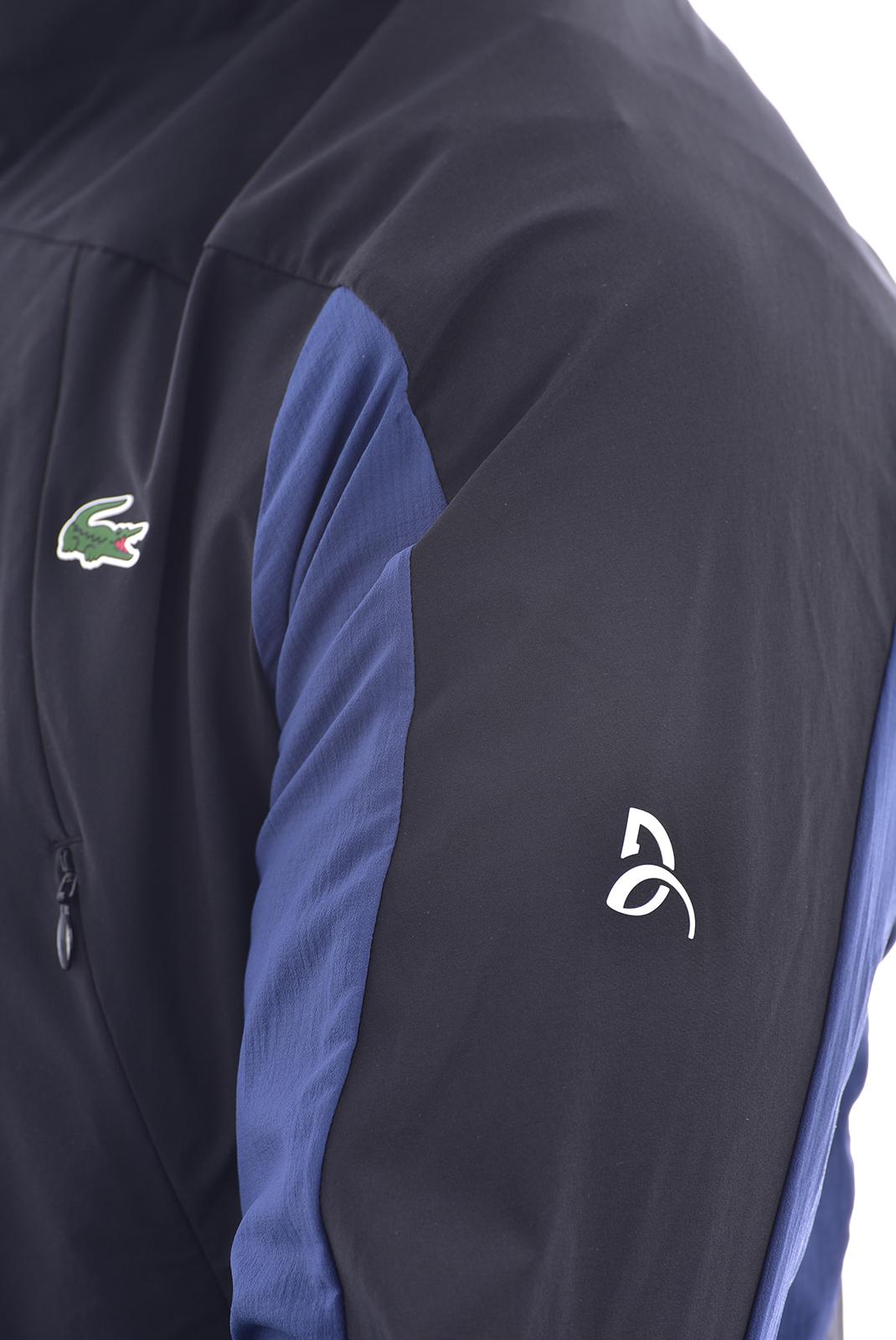 Vestes zippées  Lacoste BH9513 BW9 BLACK