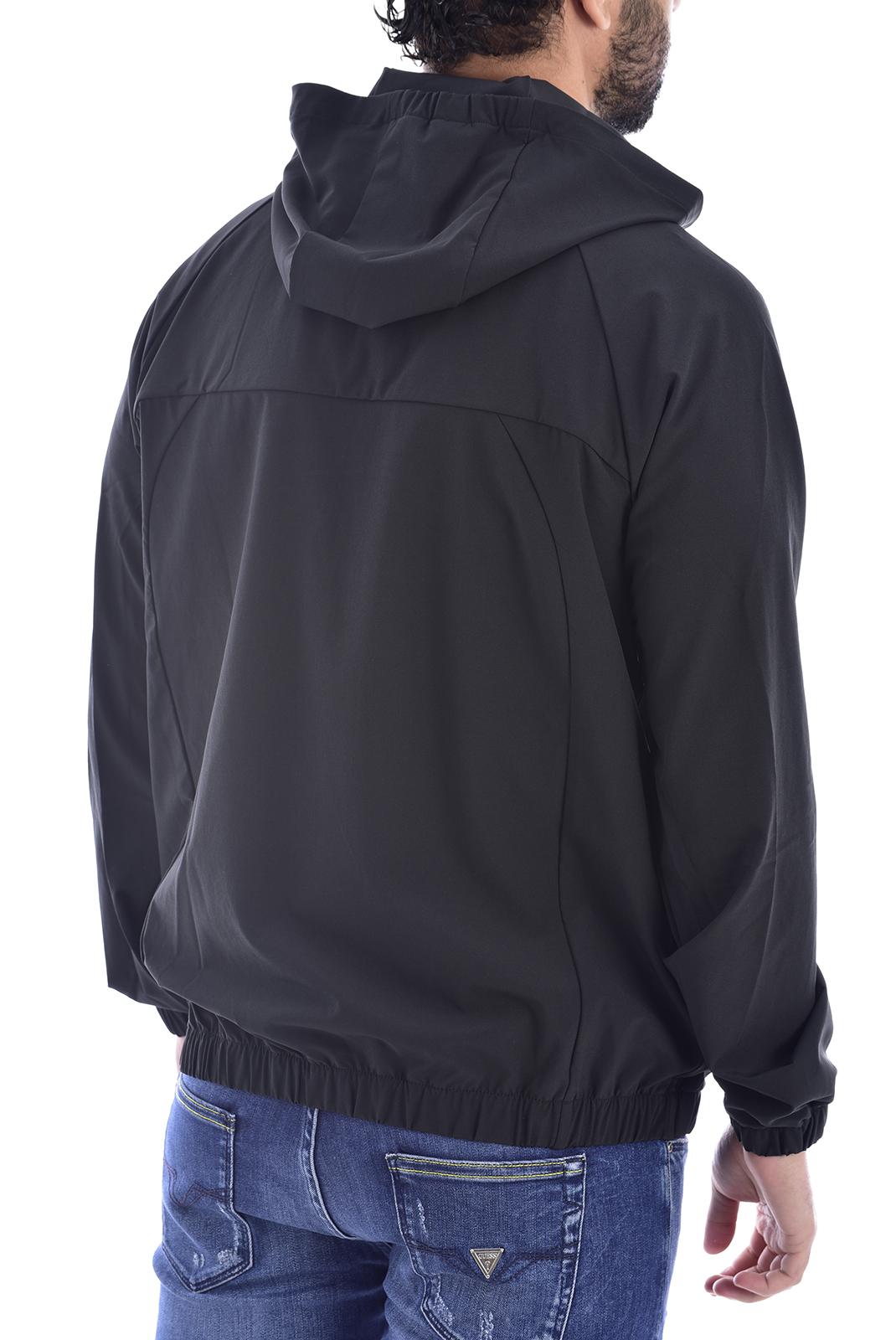Vestes zippées  Lacoste BH1803 C31 BLACK