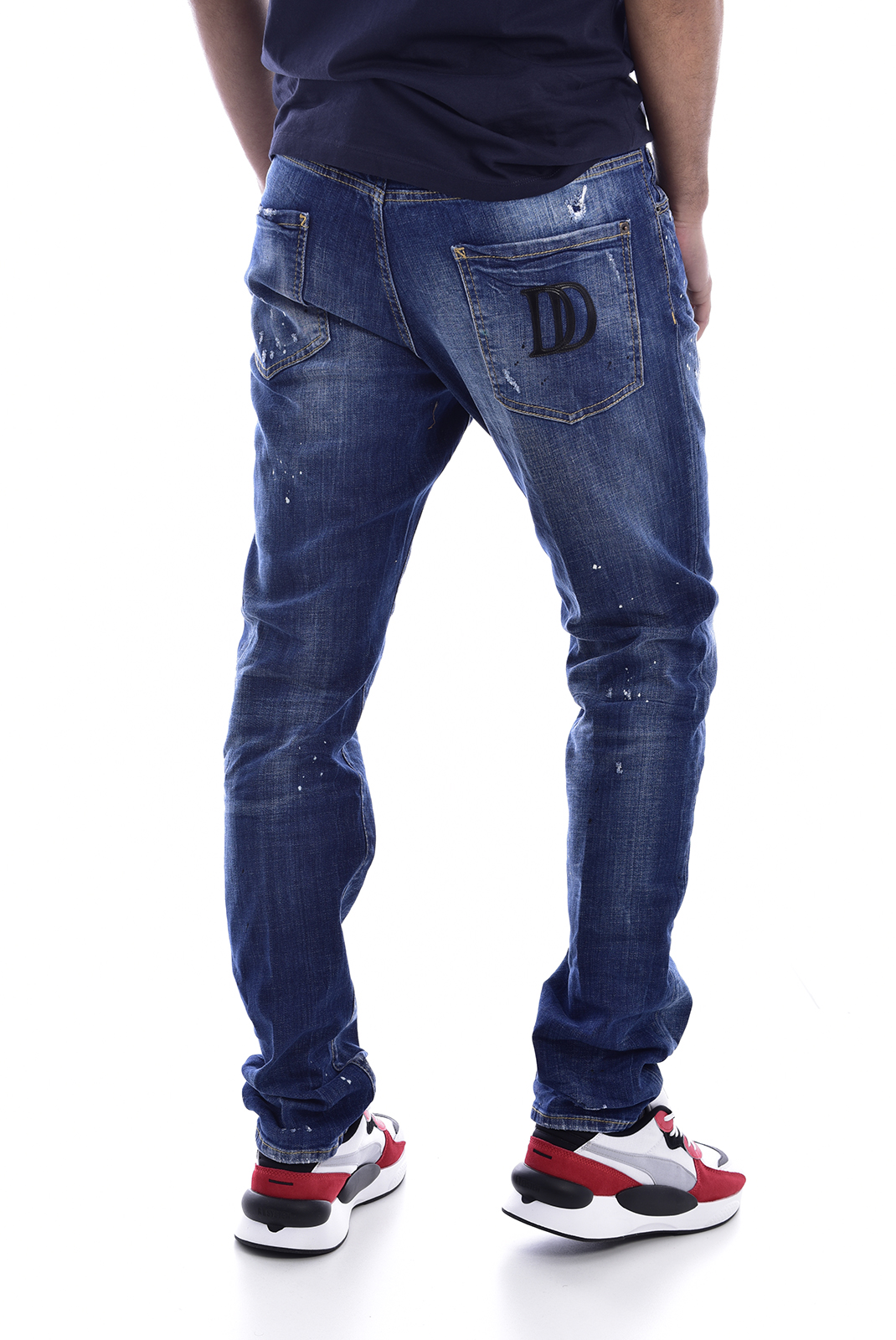 tapered  Dsquared2 S71LB0497 470 DENIM