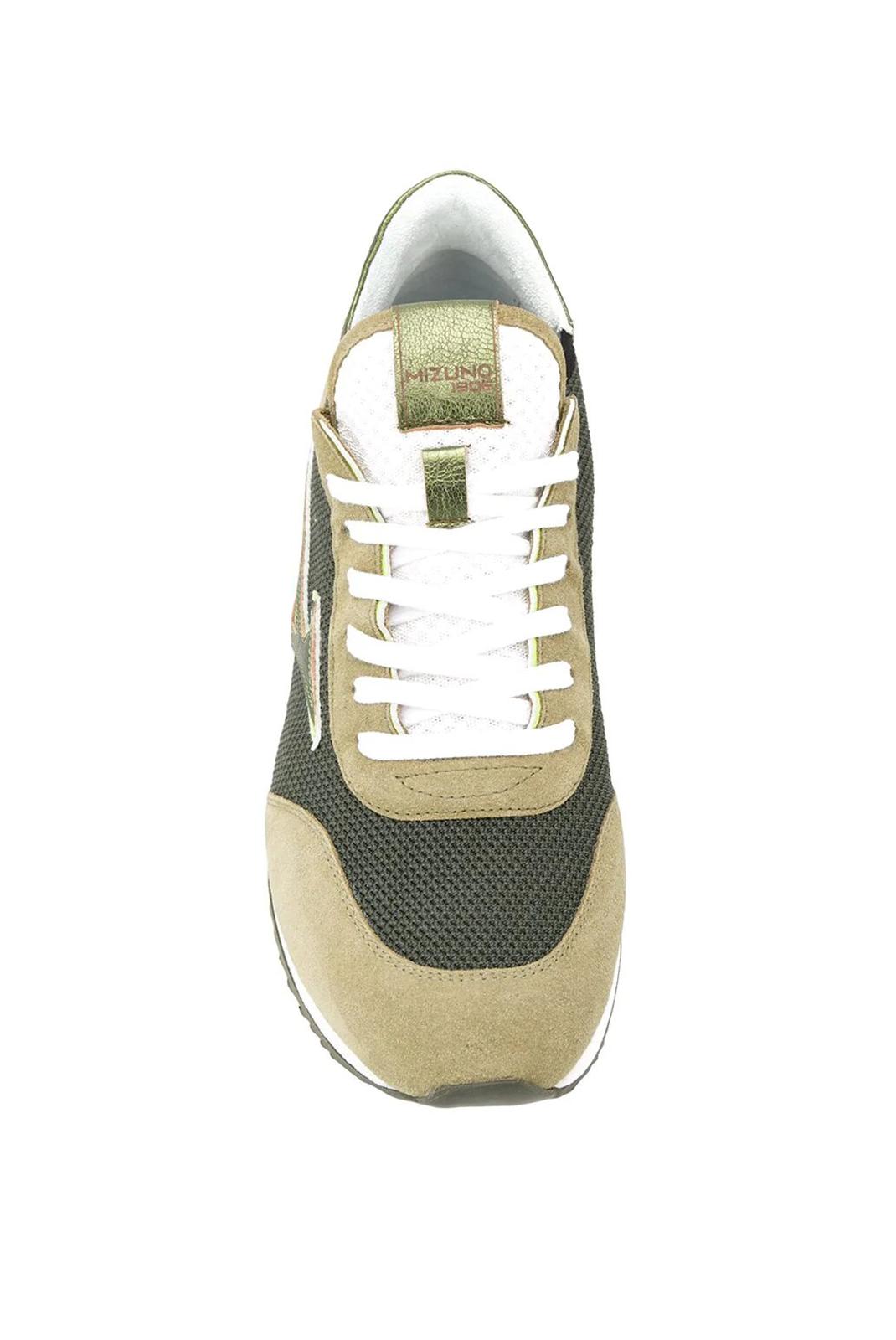 Chaussures   Mizuno D1GB195985 ETAMIN  ETAMIN ELASTIC DARK GREEN/GR