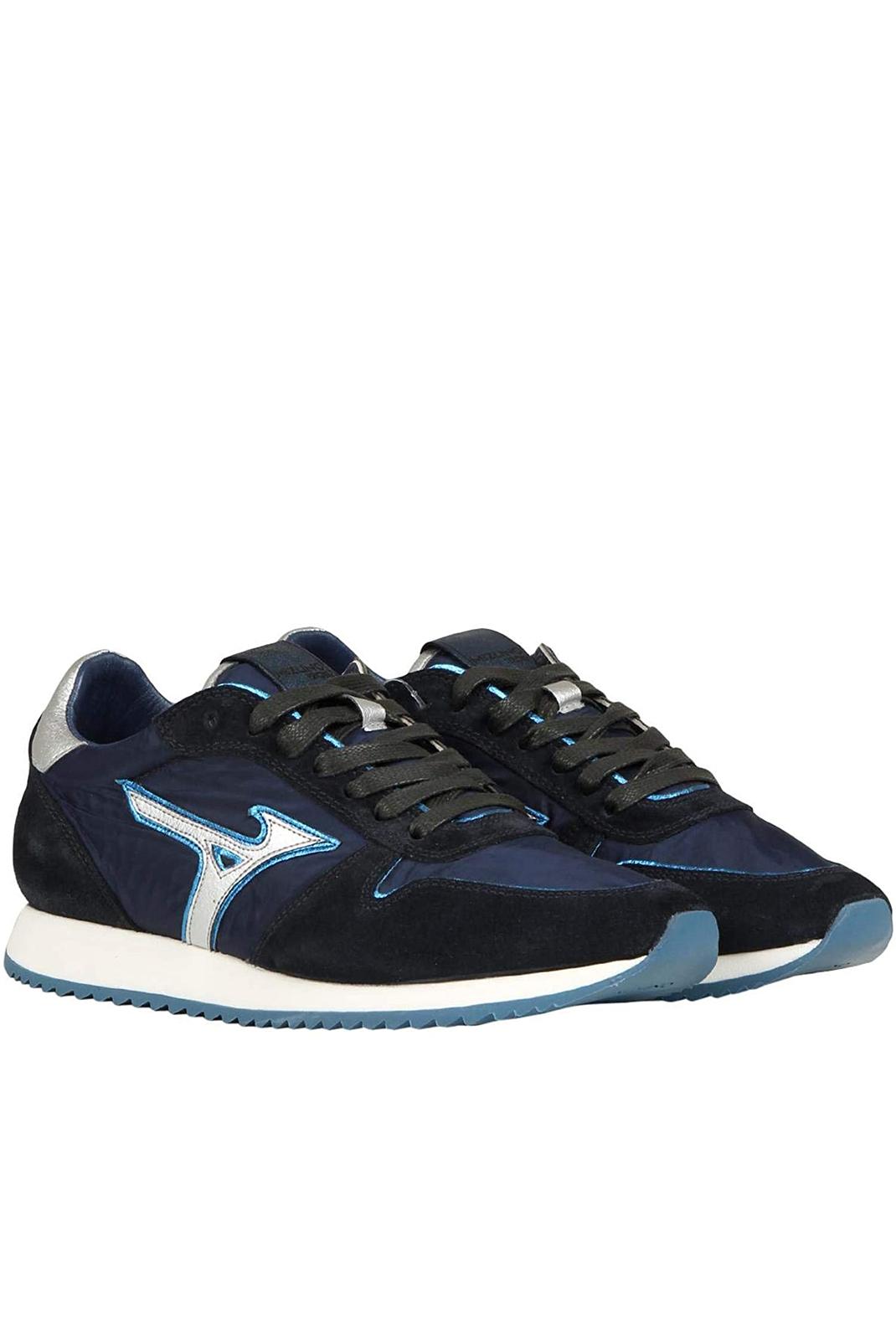 Chaussures   Mizuno D1GE181205 ETAMIN 2 SILVER/BLUE/BLU