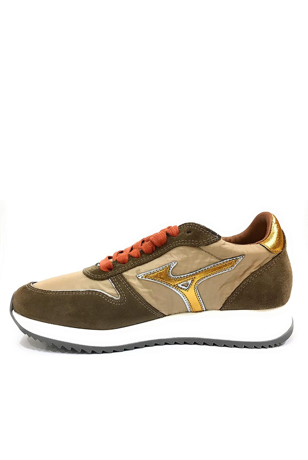 Baskets / Sneakers  Mizuno D1GE181352 ETAMIN 2  GOLD/TABACC