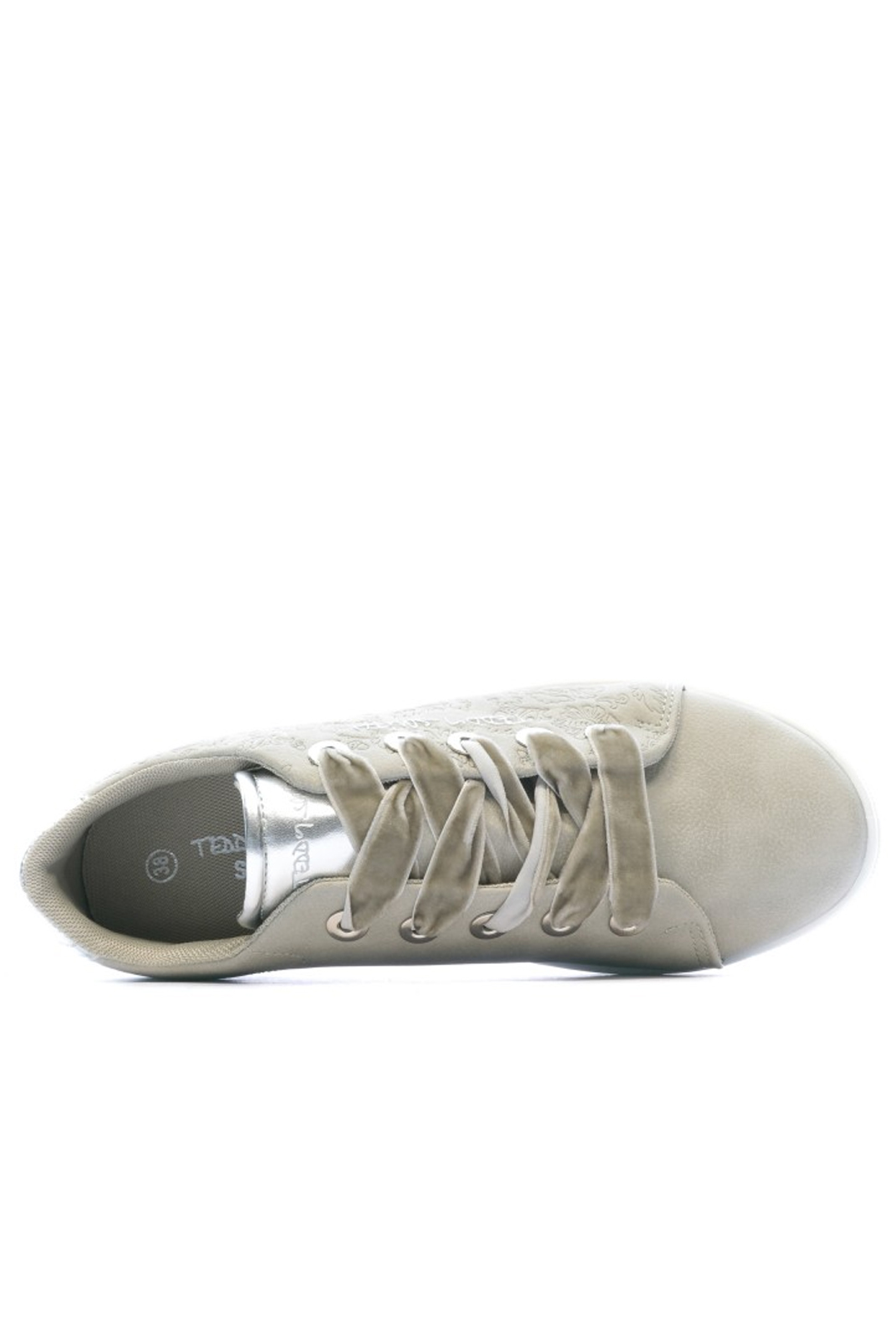 Baskets / Sneakers  Teddy smith TILLY SILVER