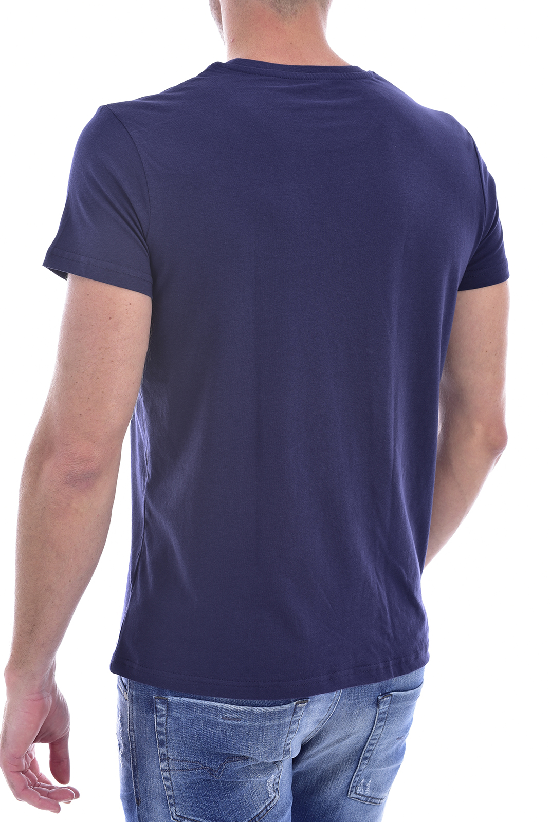 T-S manches courtes  Nasa BASIC WORM O NECK NAVY