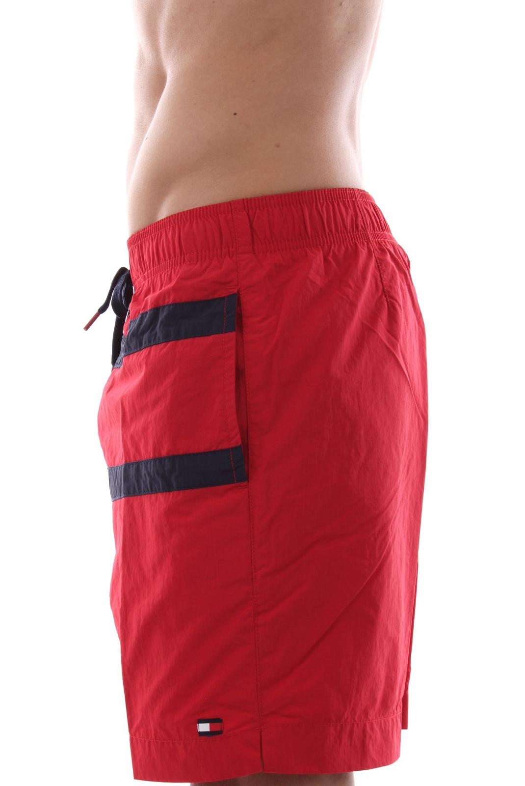 Shorts de bain  Tommy Jeans UM0UM01115 611 Tango Red