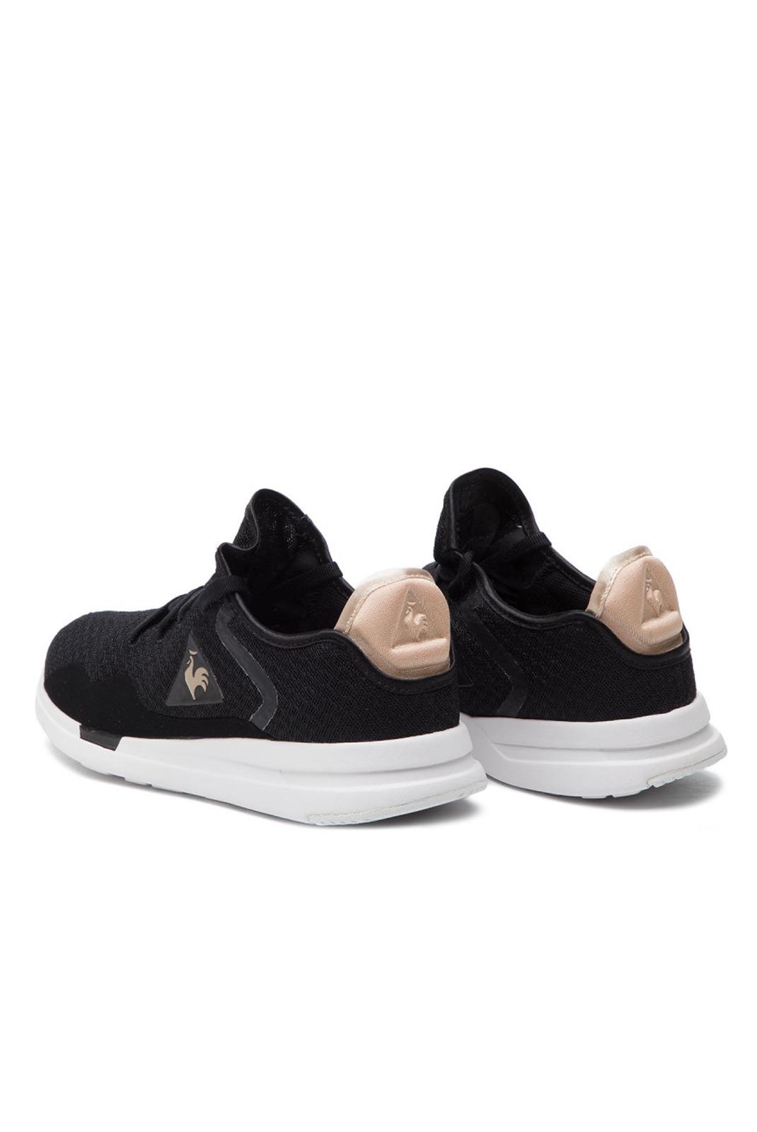 Baskets / Sneakers  Le coq sportif 1910487 SOLAS W SHINY BLACK / ROSE GOLD
