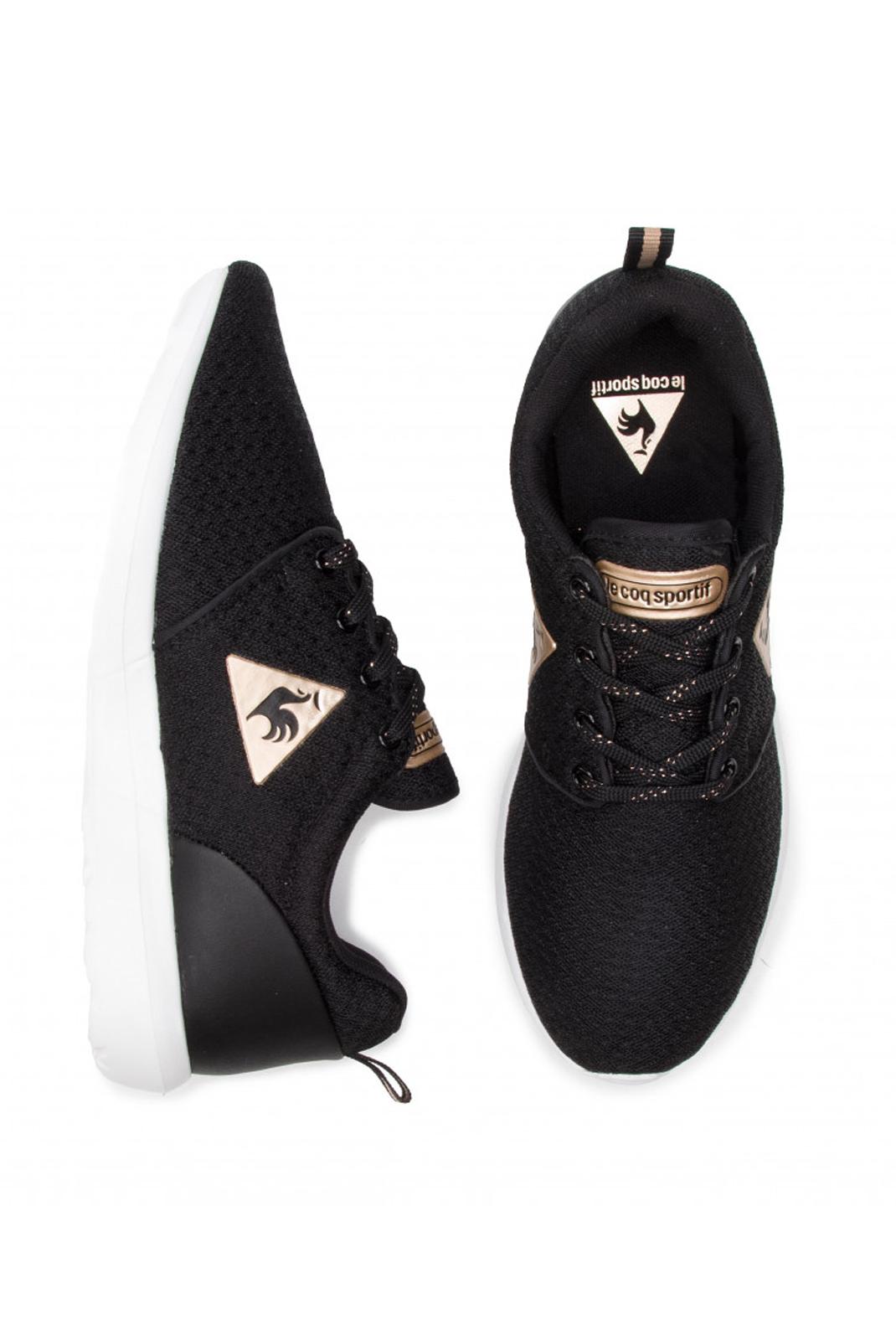 Baskets / Sneakers  Le coq sportif 1910786 DYNACOMF METALLIC BLACK ROSE/GOLD
