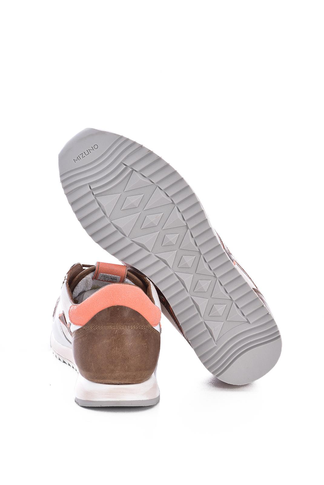 Chaussures   Mizuno D1GB196254 ETAMIN ETAMIN CANVAS WHITE/ORANGE/