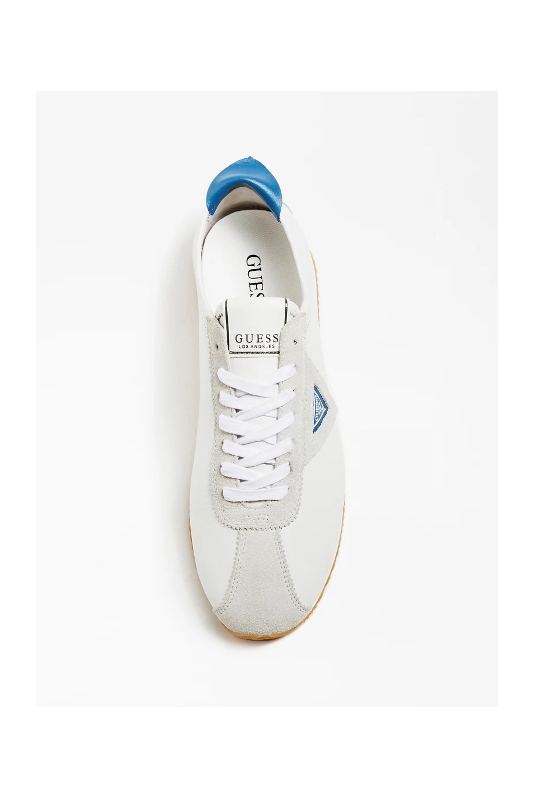 Baskets / Sport  Guess jeans FM6TOR LEA12 WHBLR WHITE BLUE