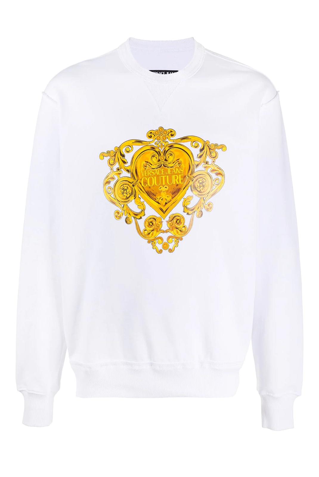 Sweatshirts  Versace Jeans B7VGB7EB BLANC