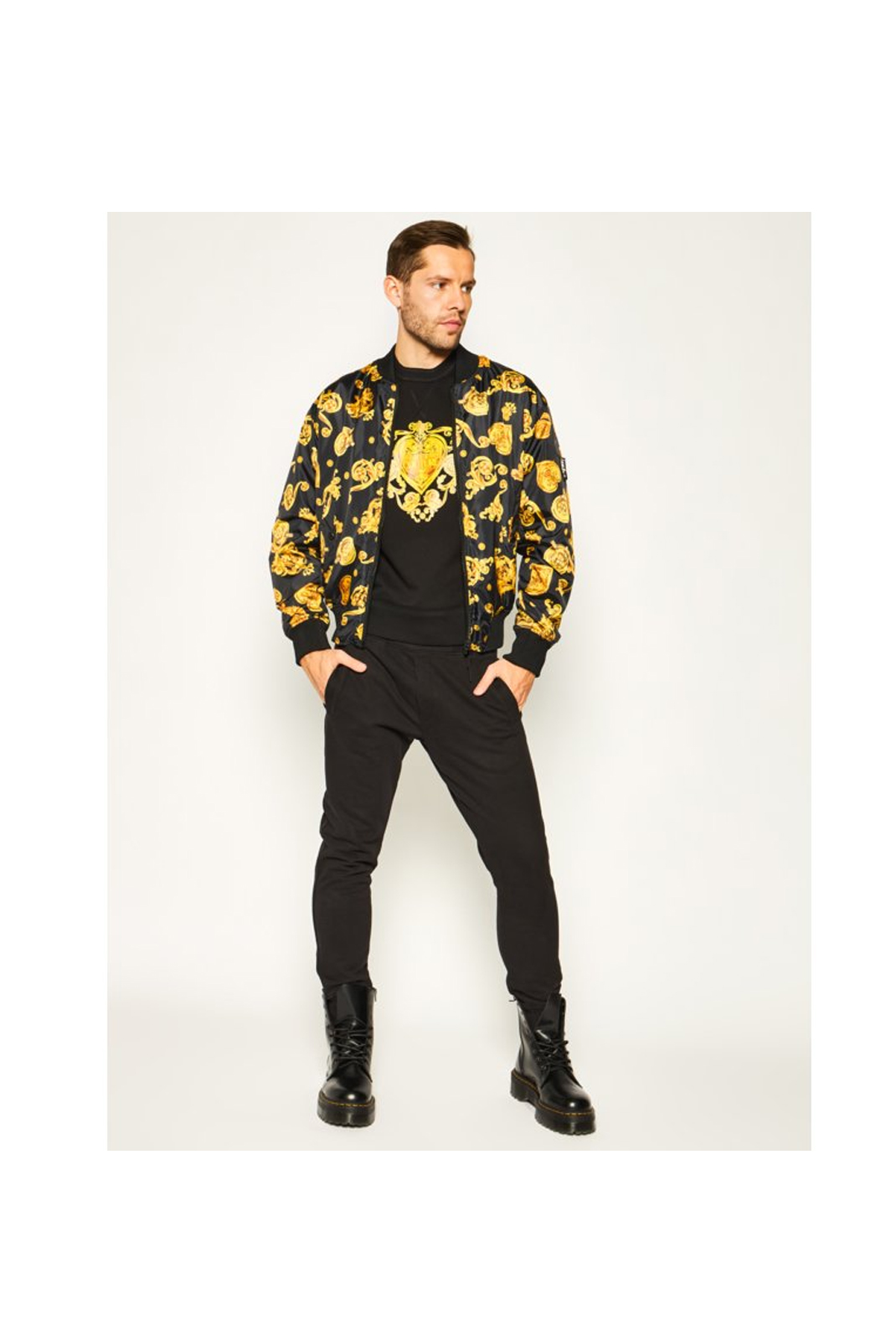 Sweatshirts  Versace Jeans B7GVB7EB NOIR