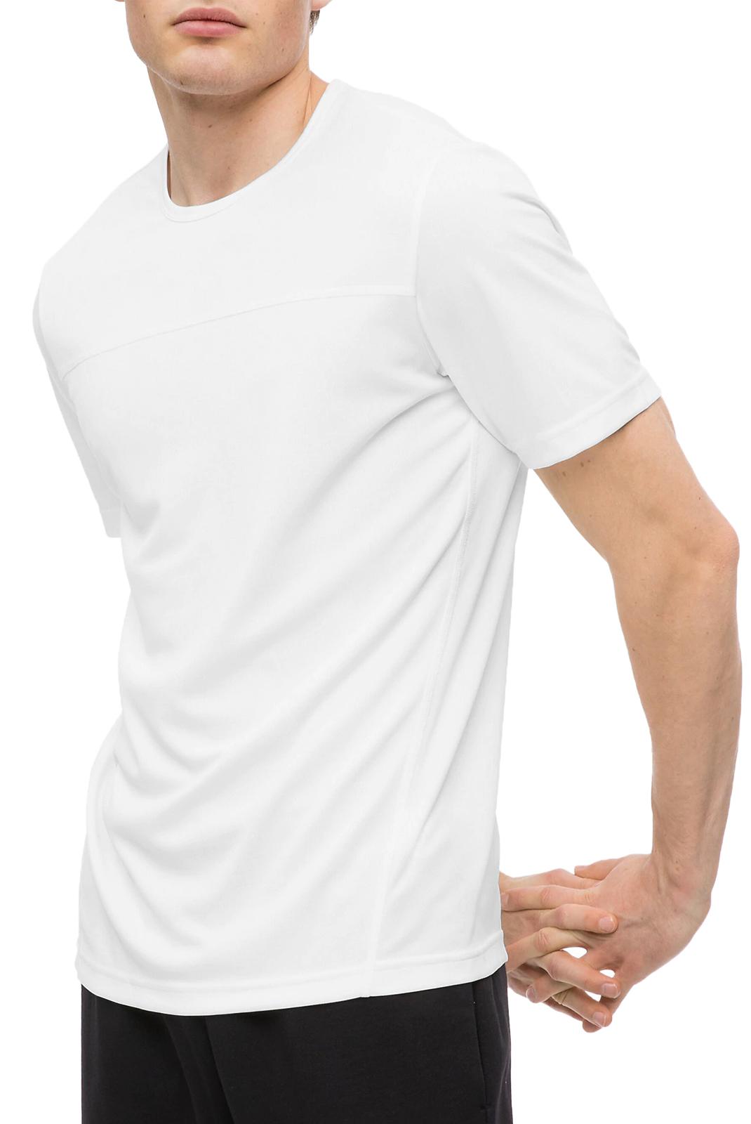 T-S manches courtes  Calvin klein 00GMS8K104-100 Bright White