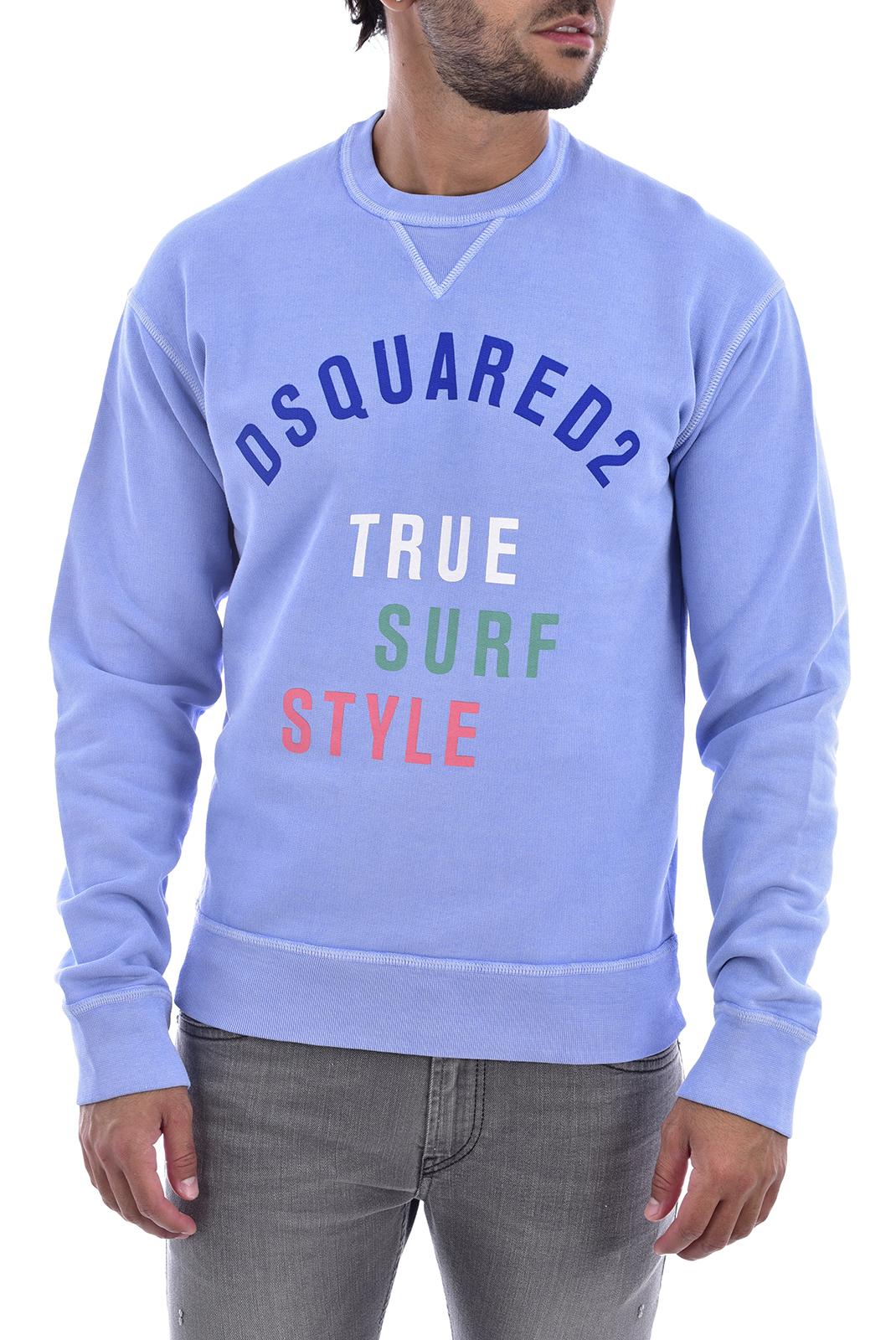 Sweatshirts  Dsquared2 S71GU0142 473 BLEU