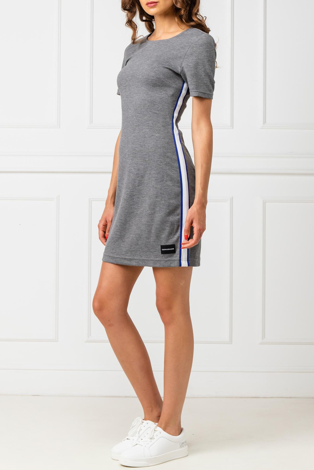 Robes  Calvin klein J20J212131-025 Mid Grey Heather