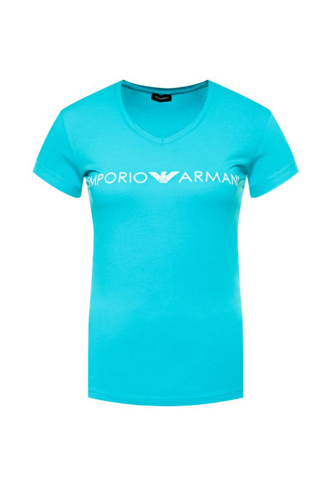 Tee shirt  Emporio armani 163321 0P317 00383 WATER GREEN
