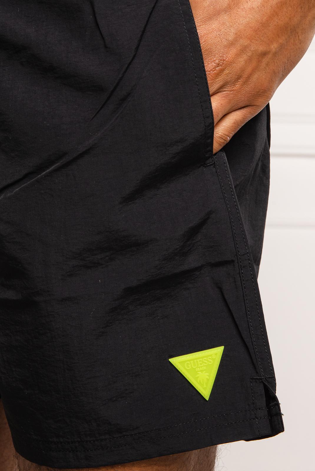 Shorts de bain  Guess jeans F02T01 TEL27 A996 JET BLACK