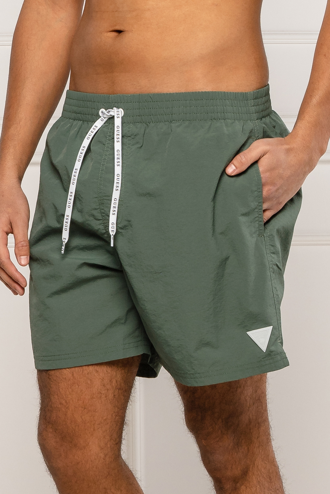 Shorts de bain  Guess jeans F02T01 TEL27 G896 ARMY OLIVE