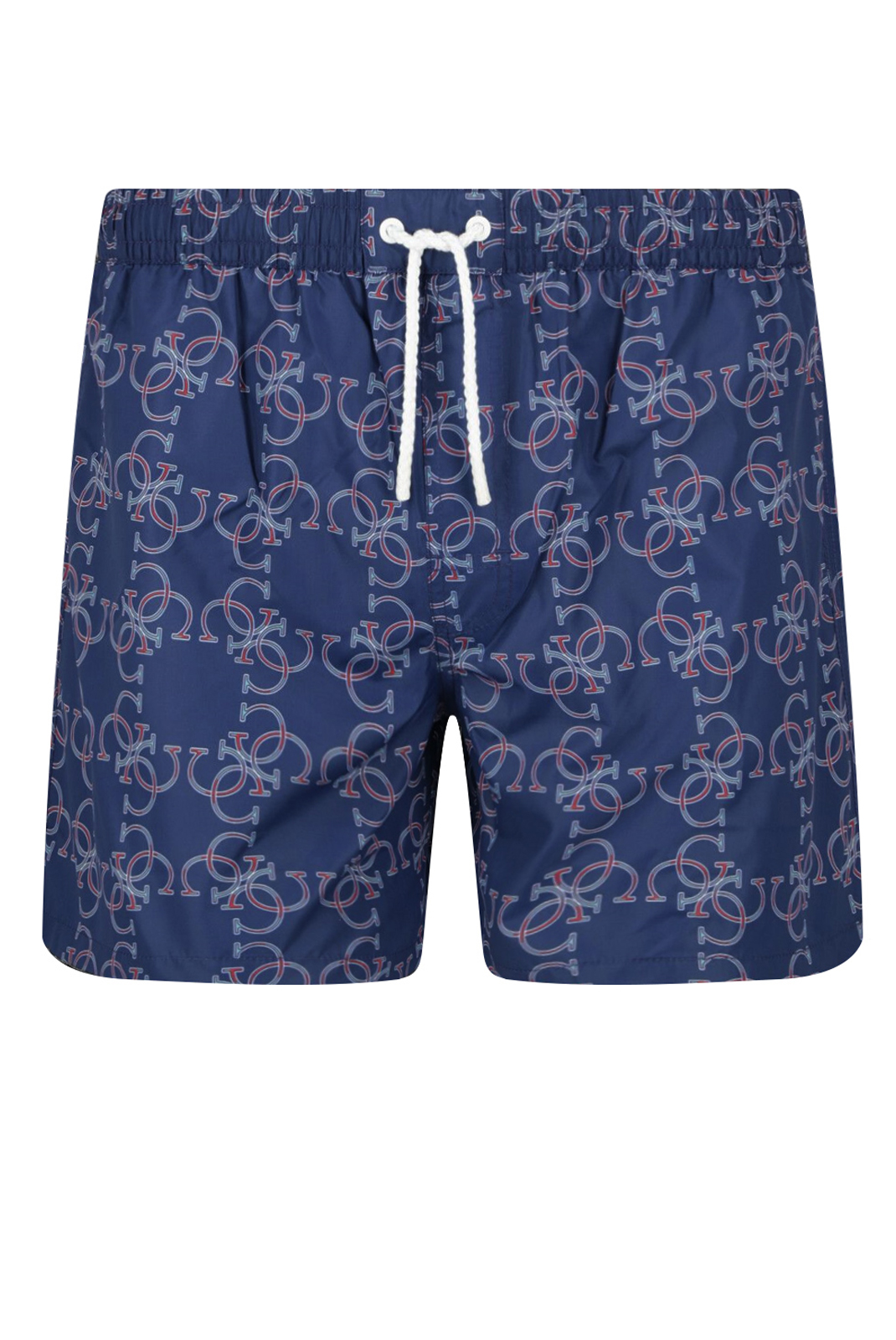 Shorts de bain  Guess jeans F02T03 TEL60 U168 4G ALL OVER JET BLACK