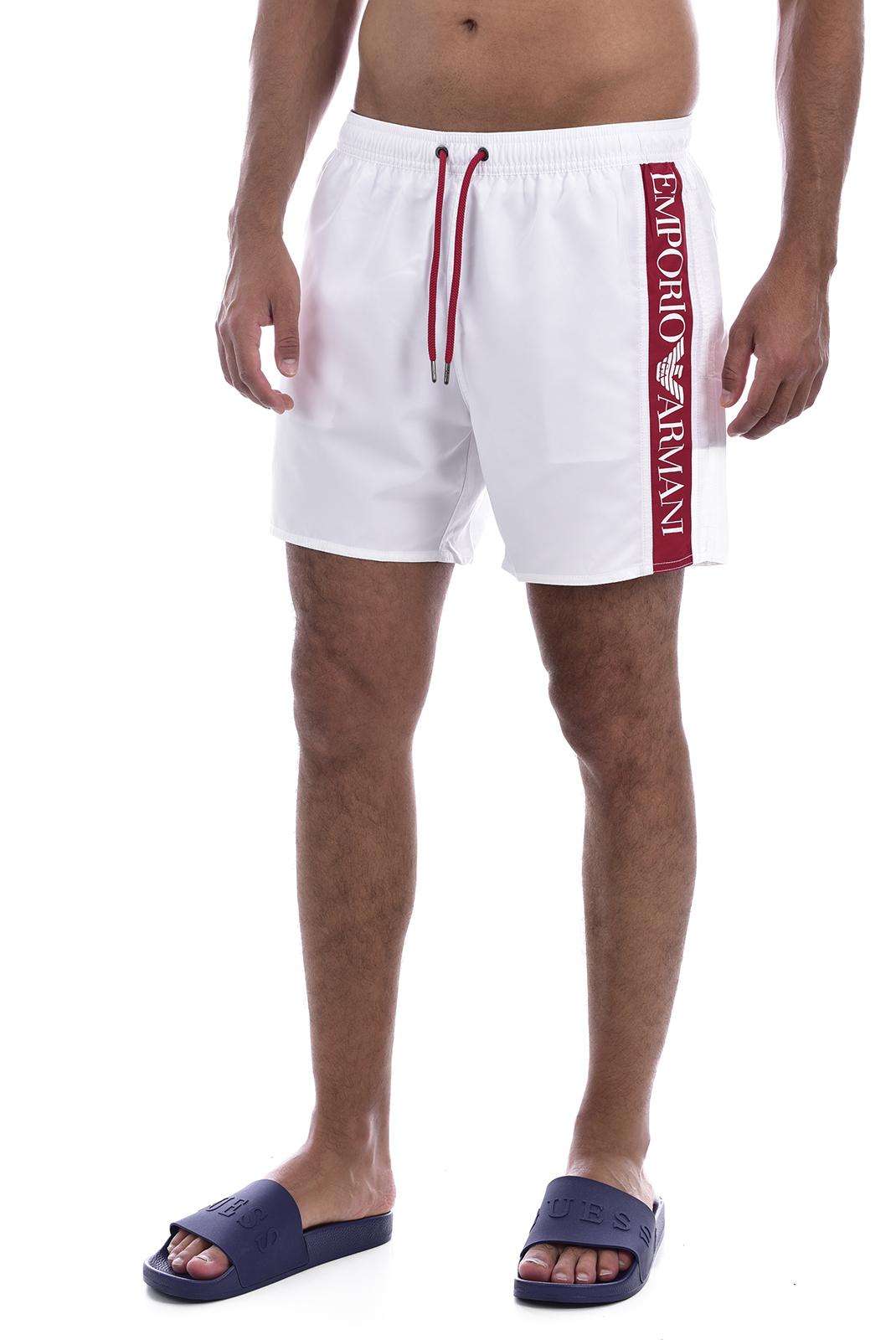 Shorts de bain  Emporio armani 211740 0P425 00010 BIANCO