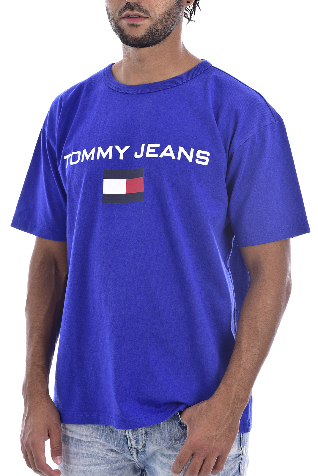 T-S manches courtes  Tommy Jeans DM0DM05234419 419 ESTATE BLUE