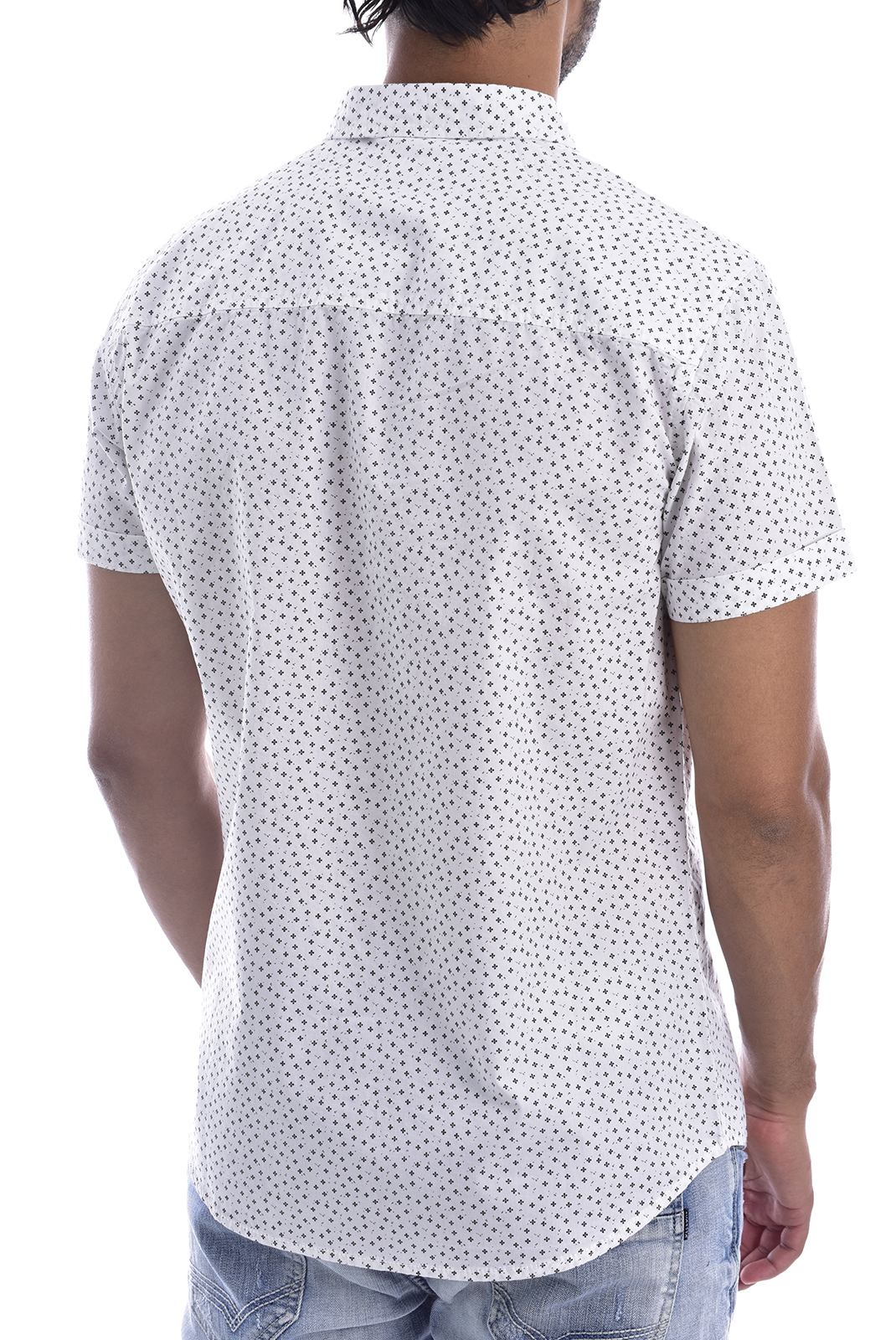 Chemises manches courtes  Deeluxe DOTZY WHITE