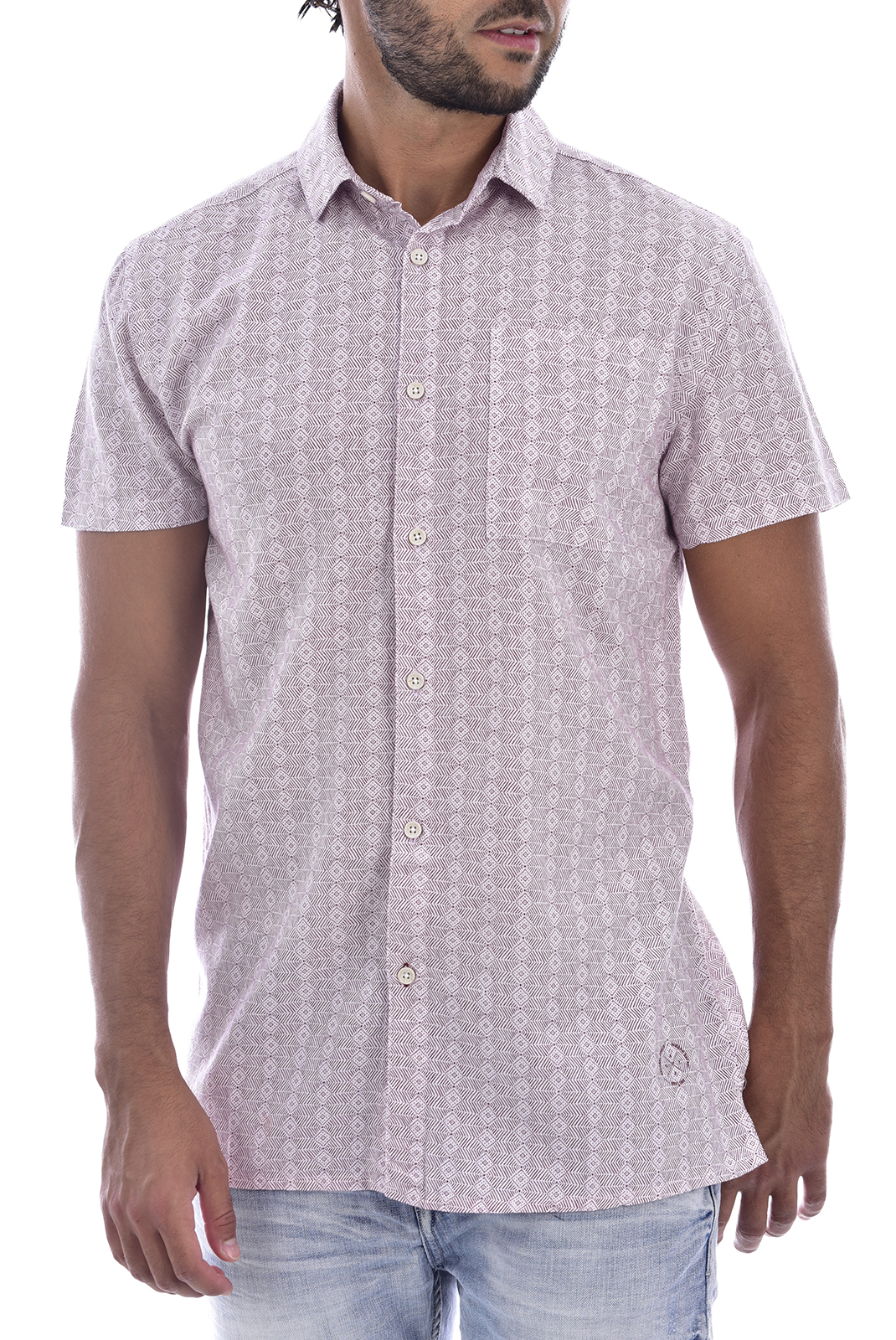 Chemises manches courtes  Deeluxe NAIROBI BERRY