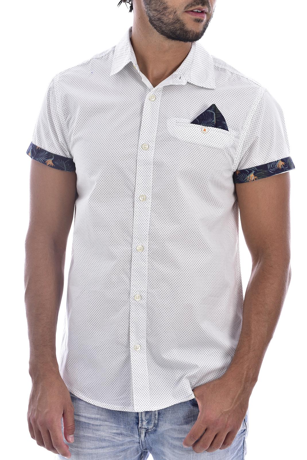 Chemises manches courtes  Deeluxe FELIZ NATURAL