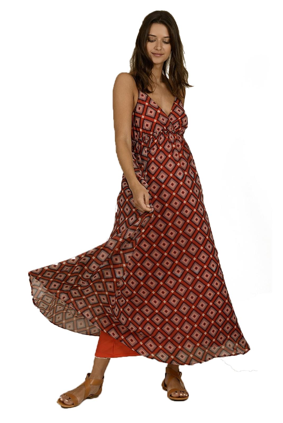 Robes Femme Molly Bracken R1480ae20 Orange