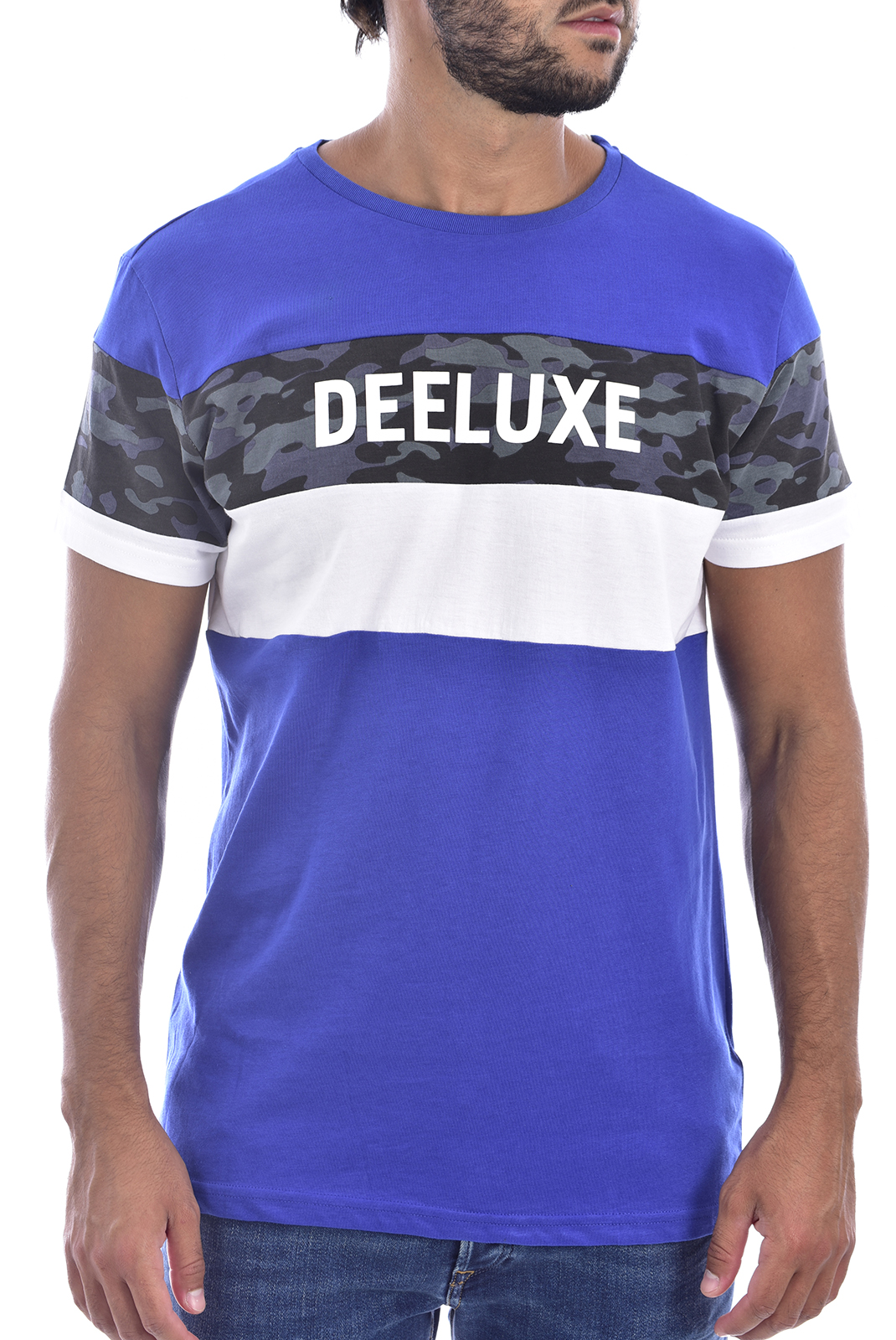 T-S manches courtes  Deeluxe WICKSON COBALT