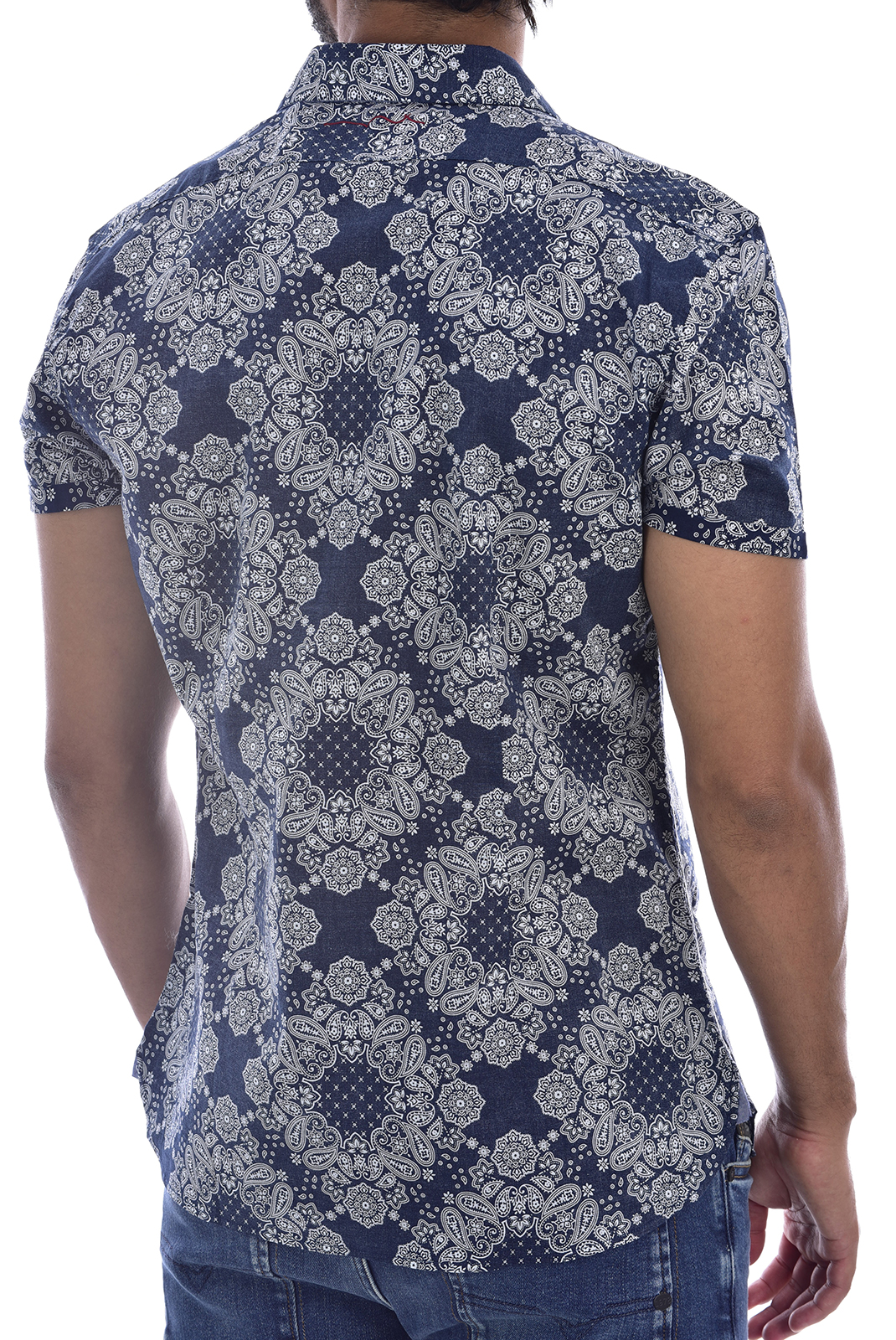 Chemises manches courtes  Teddy smith 10714510DS20 303J - TOTAL NAVY