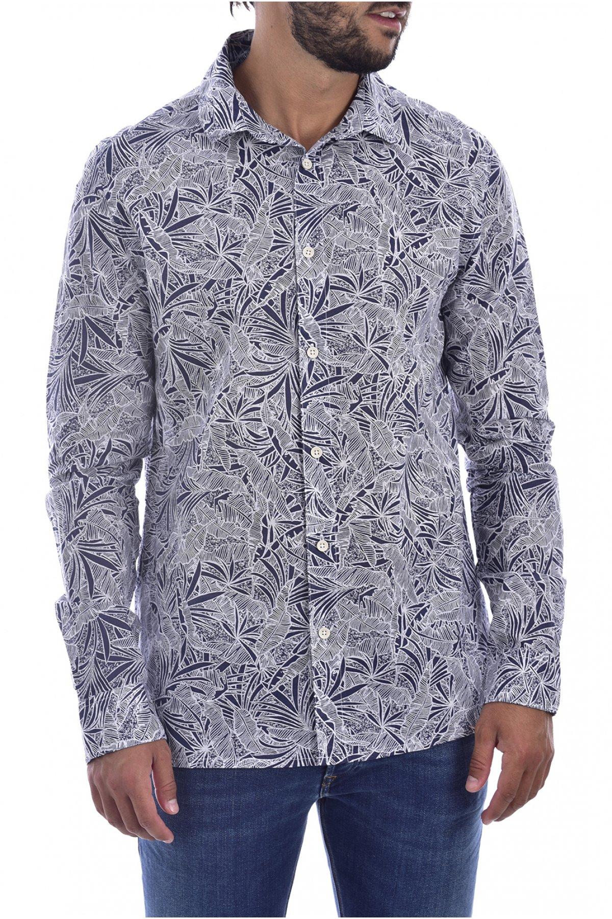 Chemise coton à imprimé t