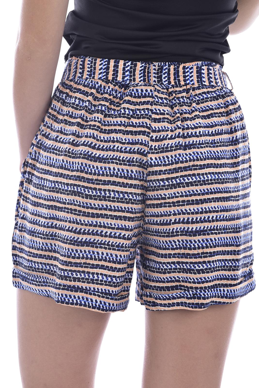 Shorts  Deeluxe MALEA PRINT BLUE WAVE