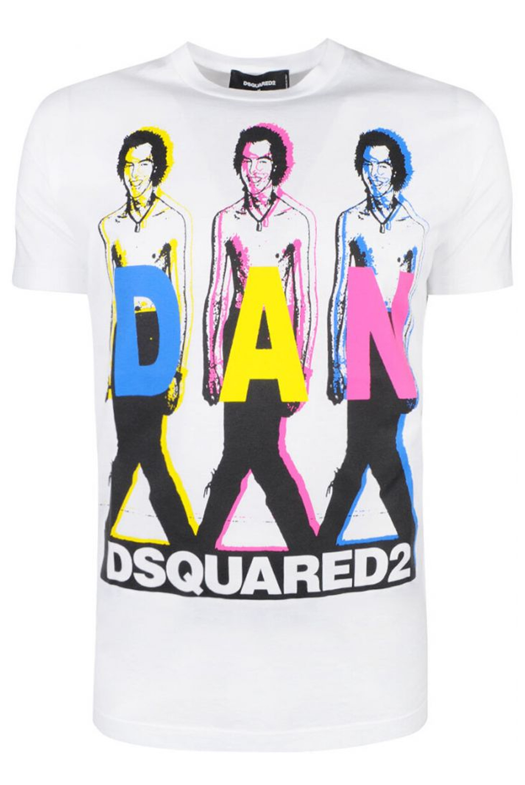 T-S manches courtes  Dsquared2 S74GD0498 100 WHITE