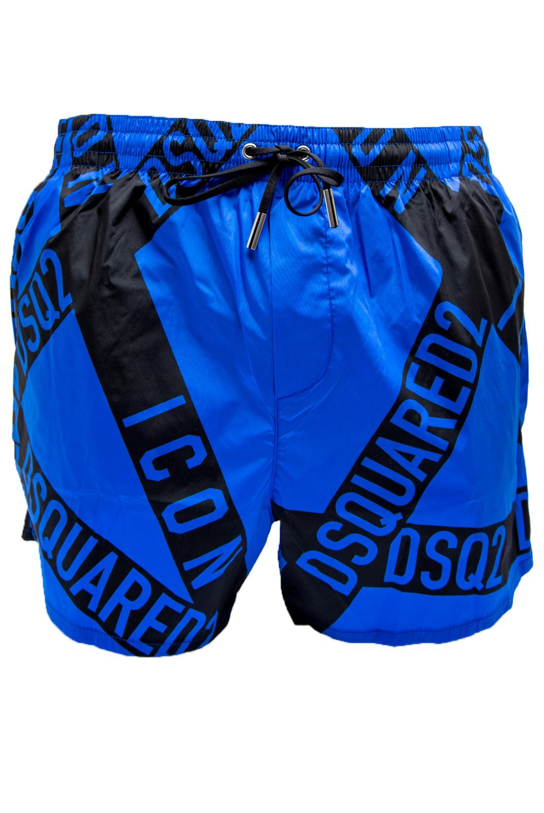 Shorts de bain  Dsquared2 D7B642540 33046 BLEU
