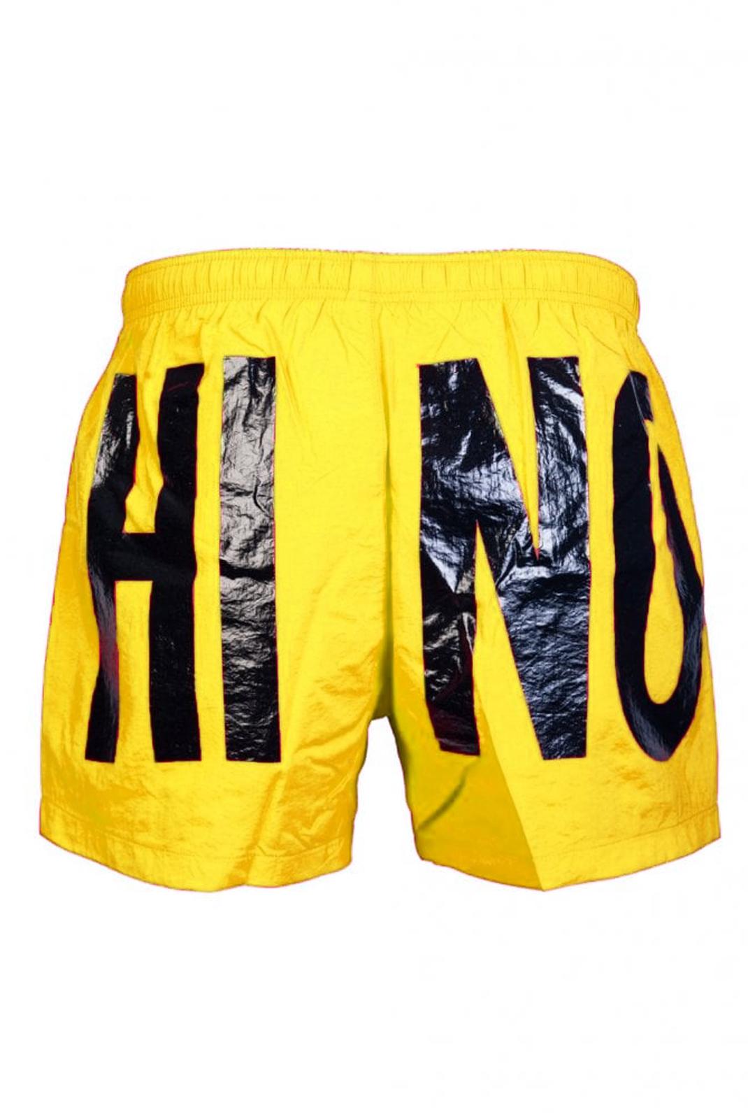 Shorts de bain  Moschino V6119 0028 JAUNE