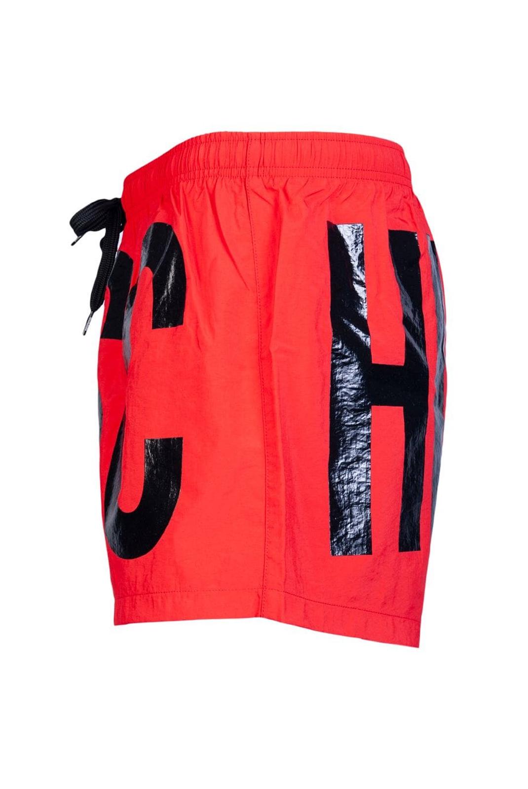 Shorts de bain  Moschino V6119 0114 ROUGE