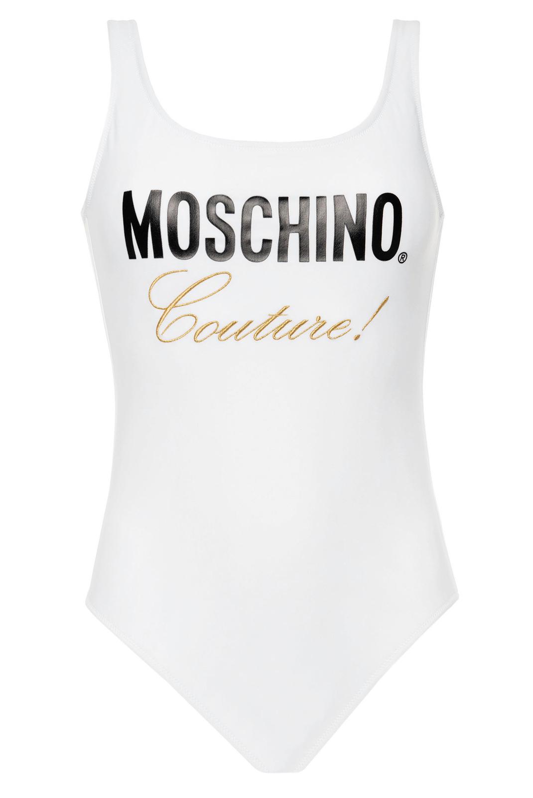 Beachwear  Moschino A6134 0001 BLANC